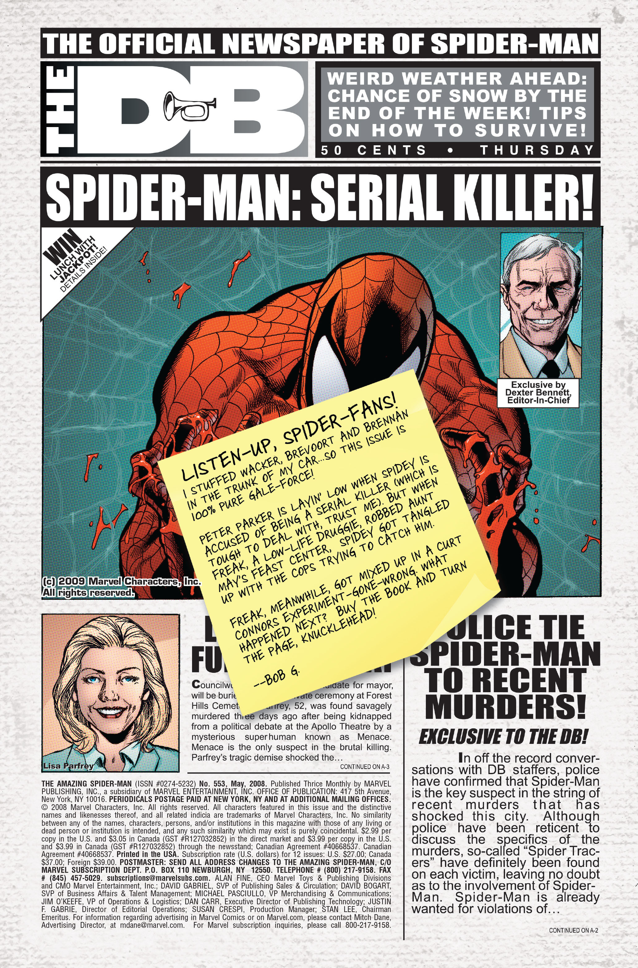 The Amazing Spider-Man (1963) 553 Page 1