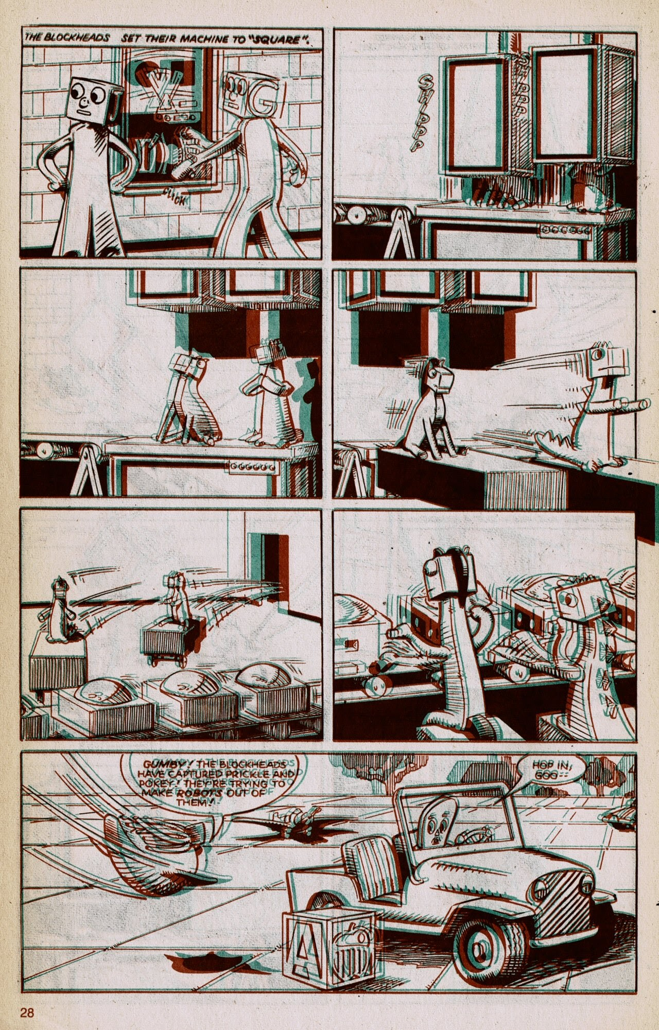 Gumby 3-D issue 1 - Page 30