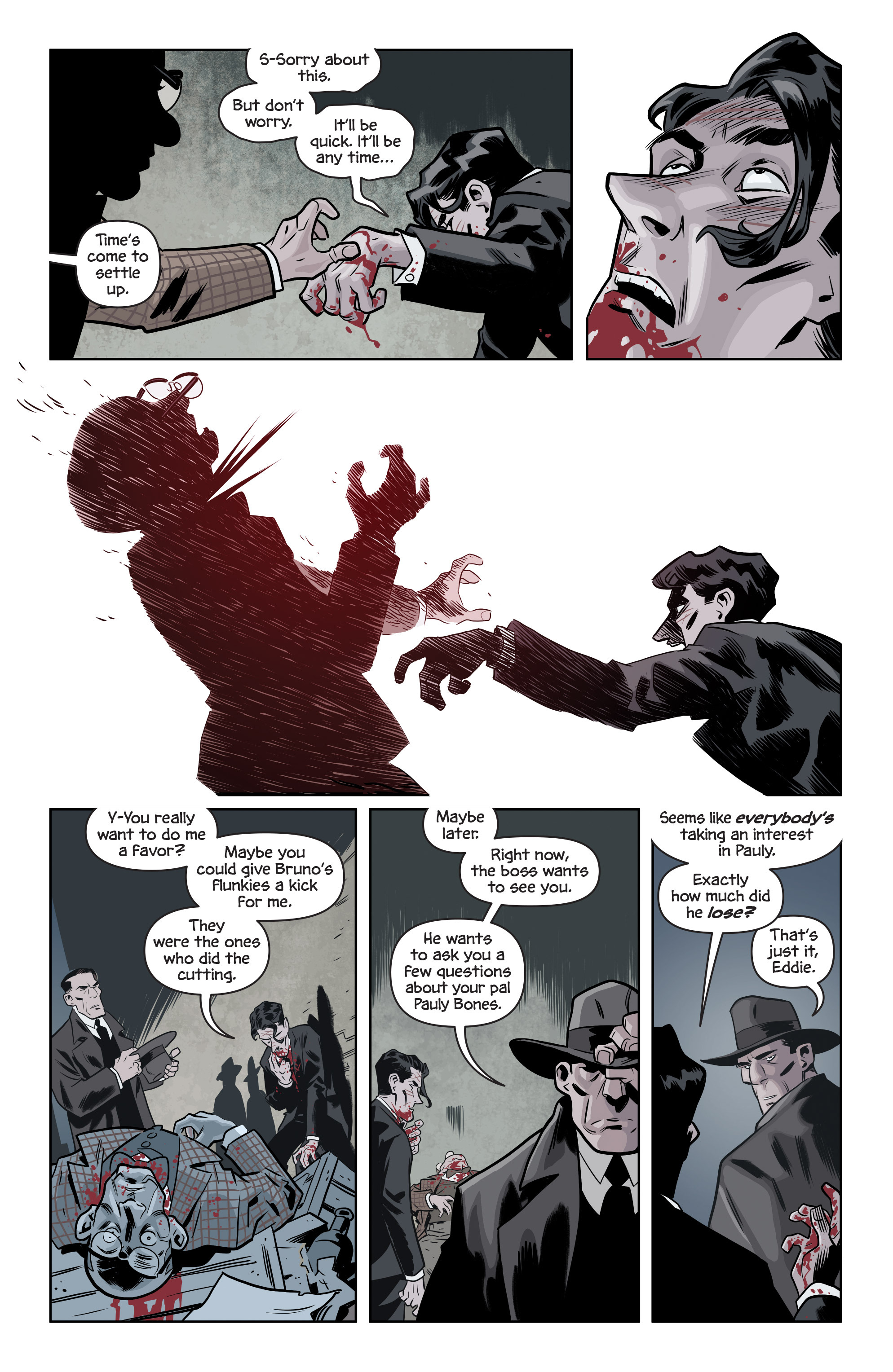 Read online The Damned comic -  Issue #1 - 26