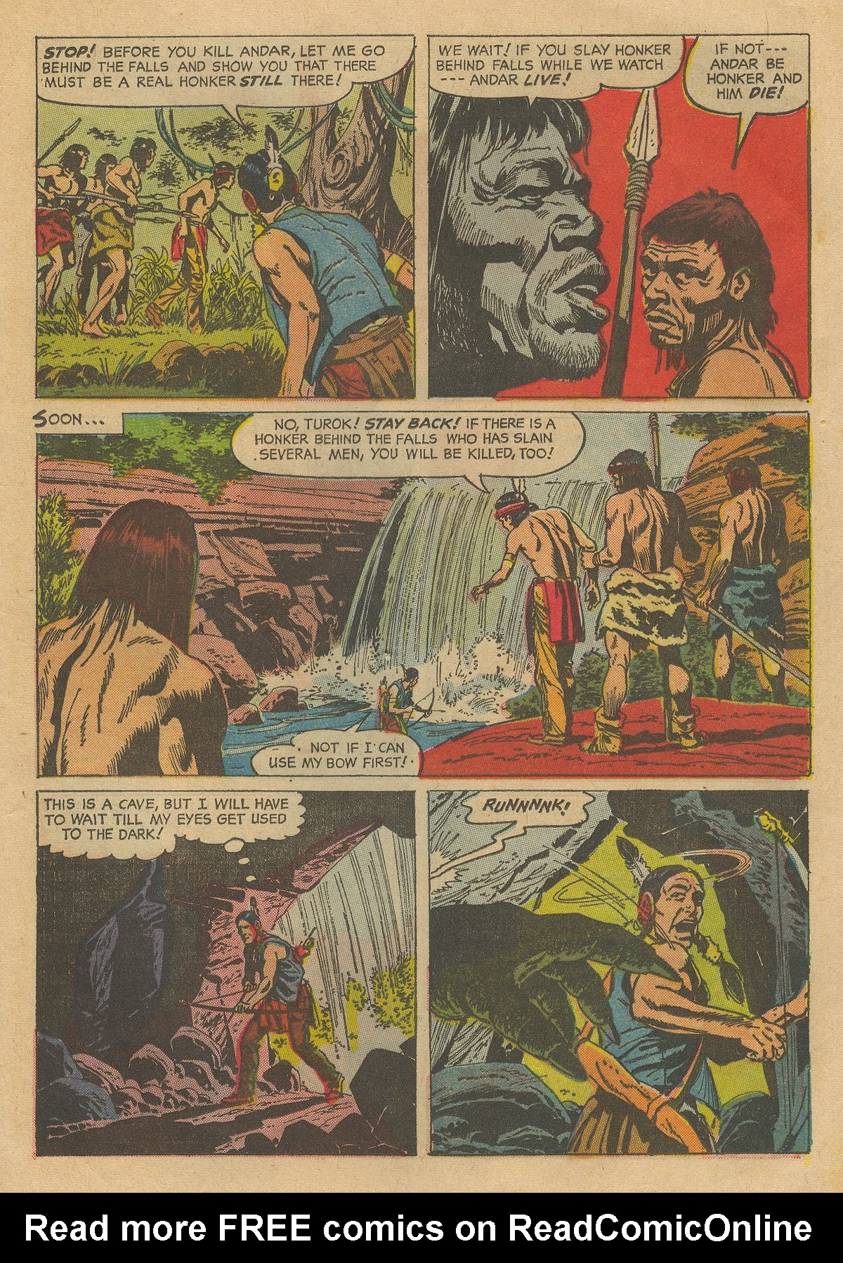 Read online Turok, Son of Stone comic -  Issue #54 - 13