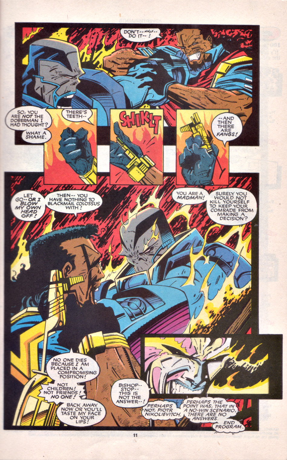 Read online Uncanny X-Men (1963) comic -  Issue # _Annual 16 - 10