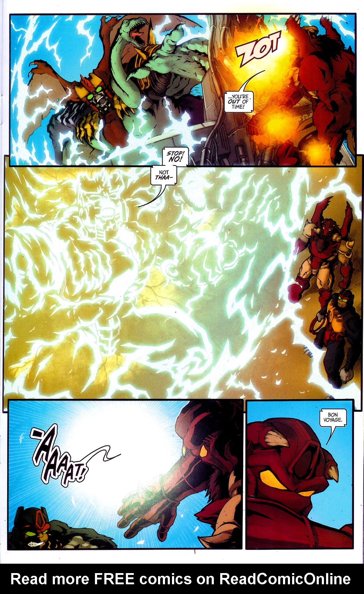 Read online Transformers, Beast Wars: The Gathering comic -  Issue #4 - 23