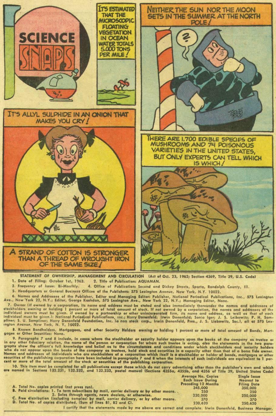 Read online Aquaman (1962) comic -  Issue #16 - 12