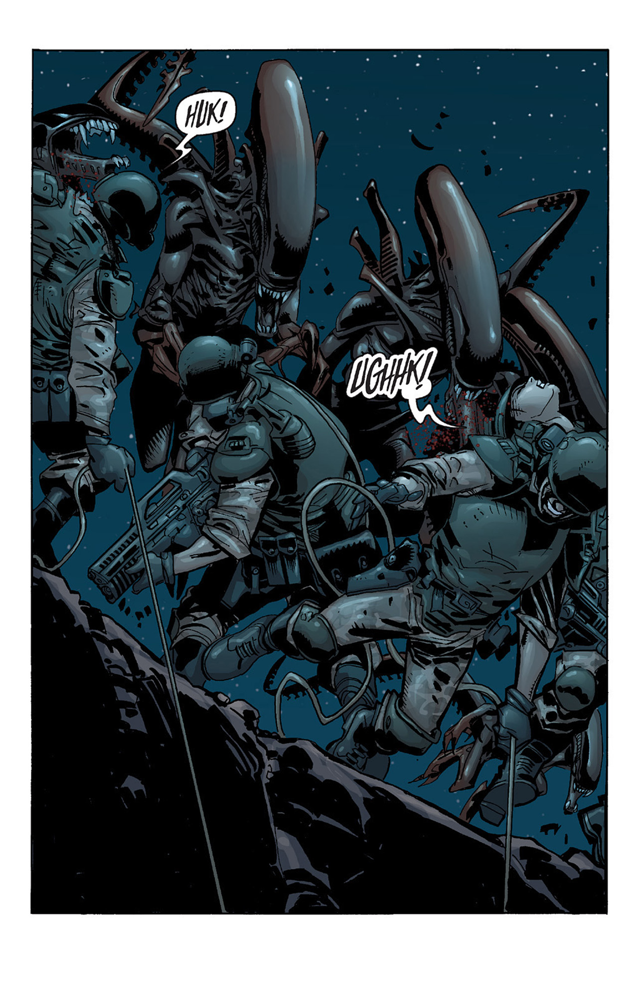 Read online Aliens vs. Predator: Three World War comic -  Issue #2 - 7