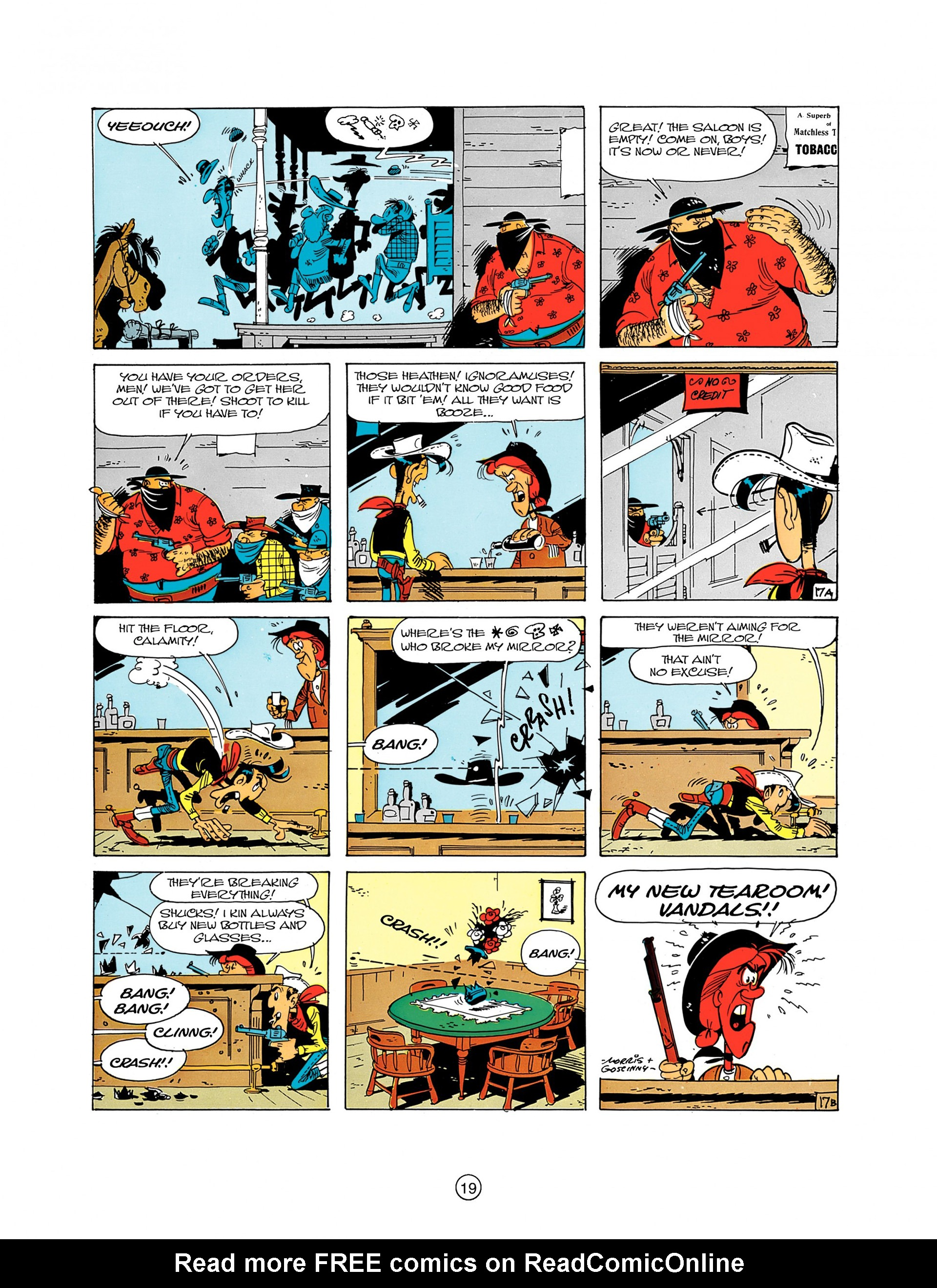 Read online A Lucky Luke Adventure comic -  Issue #8 - 19