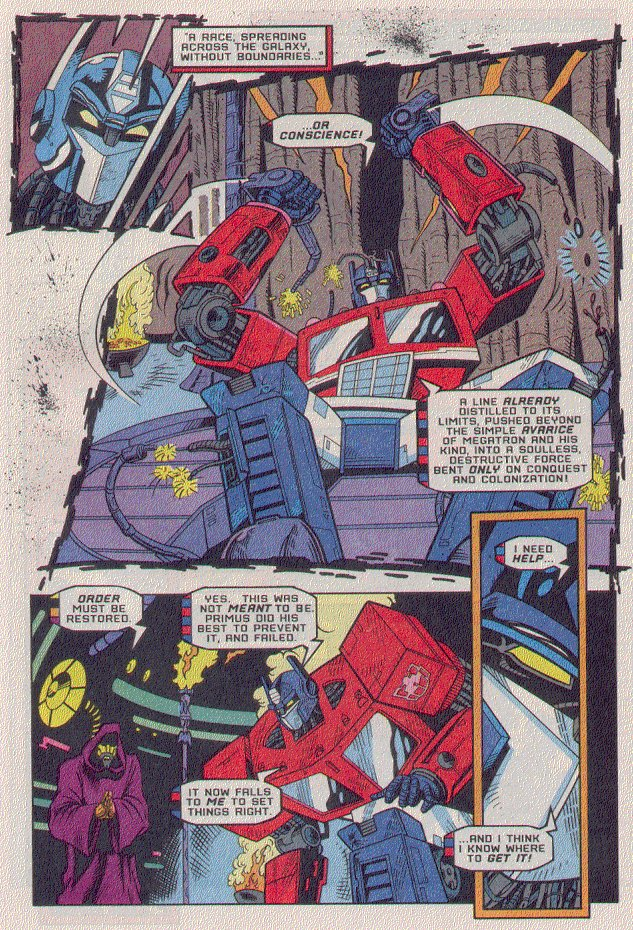 Read online Transformers: Generation 2 comic -  Issue #5 - 16