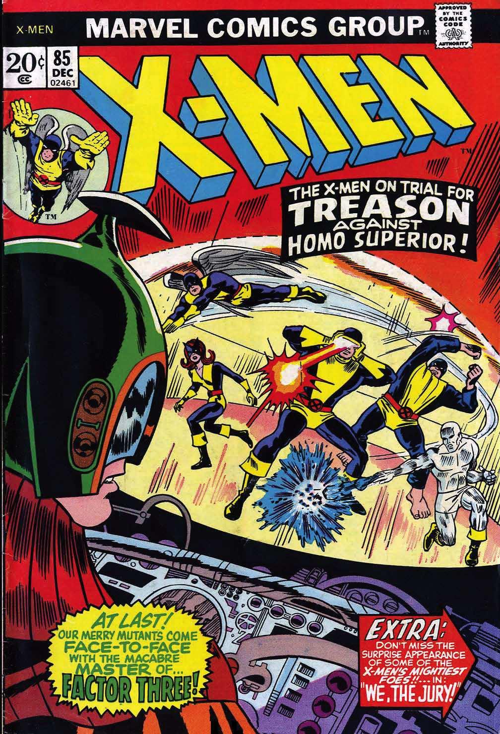 Read online Uncanny X-Men (1963) comic -  Issue #85 - 1