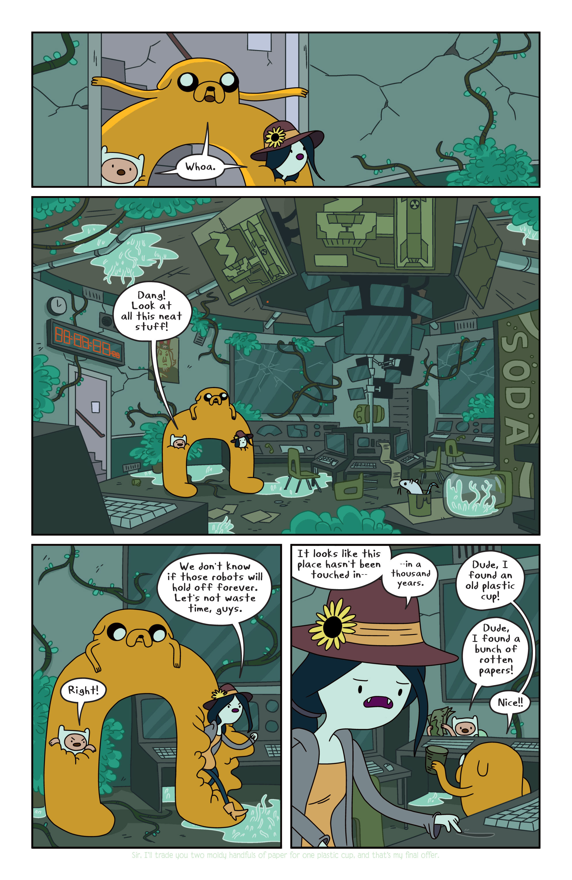 Read online Adventure Time comic -  Issue #13 - 14