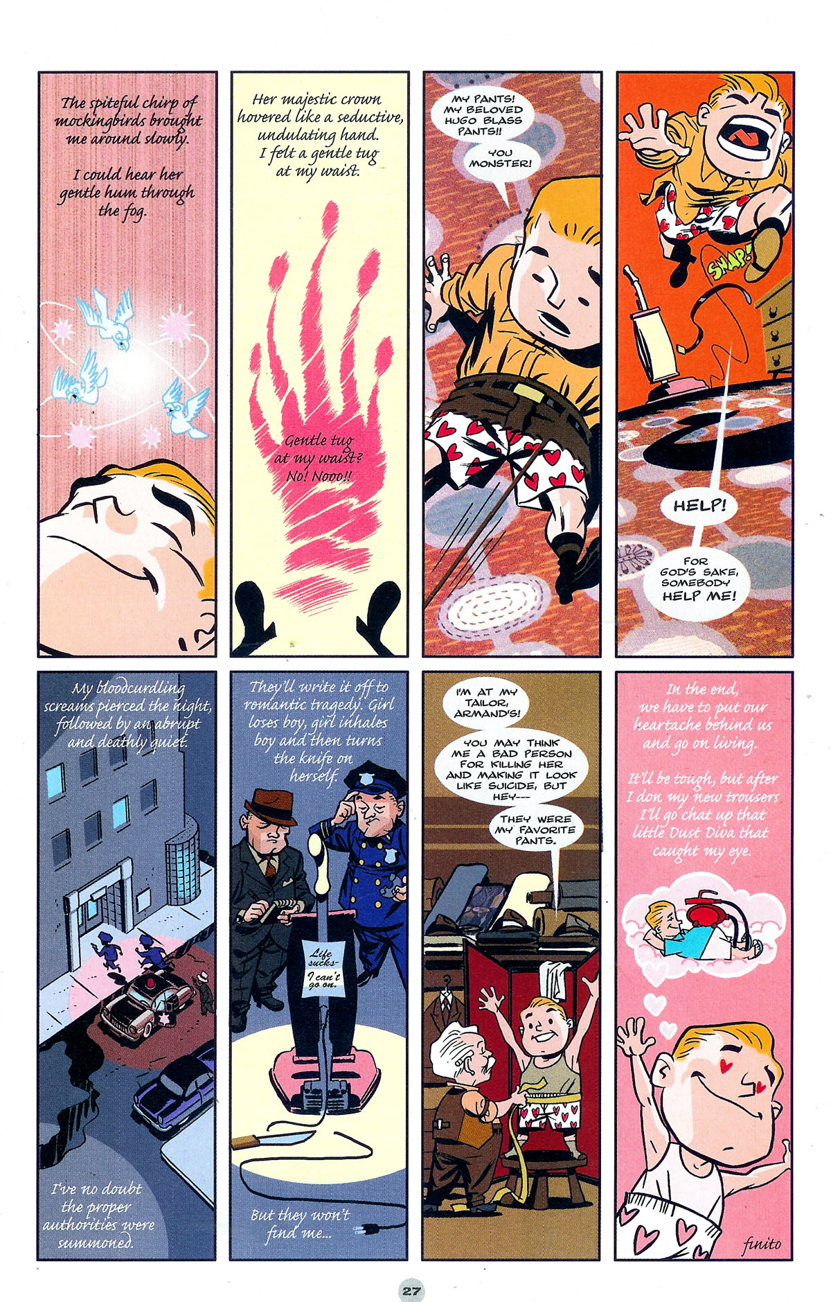 Read online Solo (2004) comic -  Issue #5 - 27