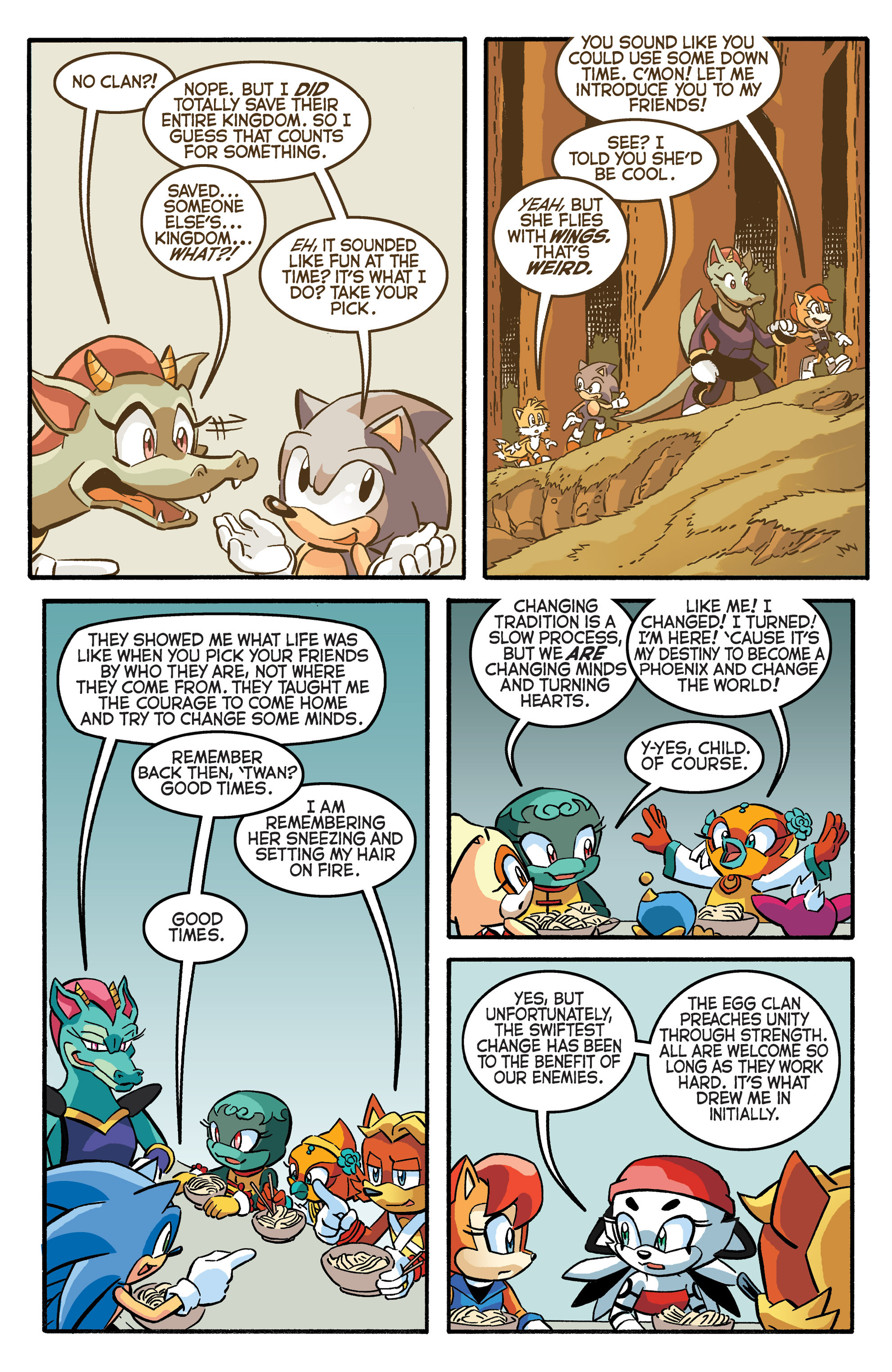Read online Sonic The Hedgehog comic -  Issue #281 - 10