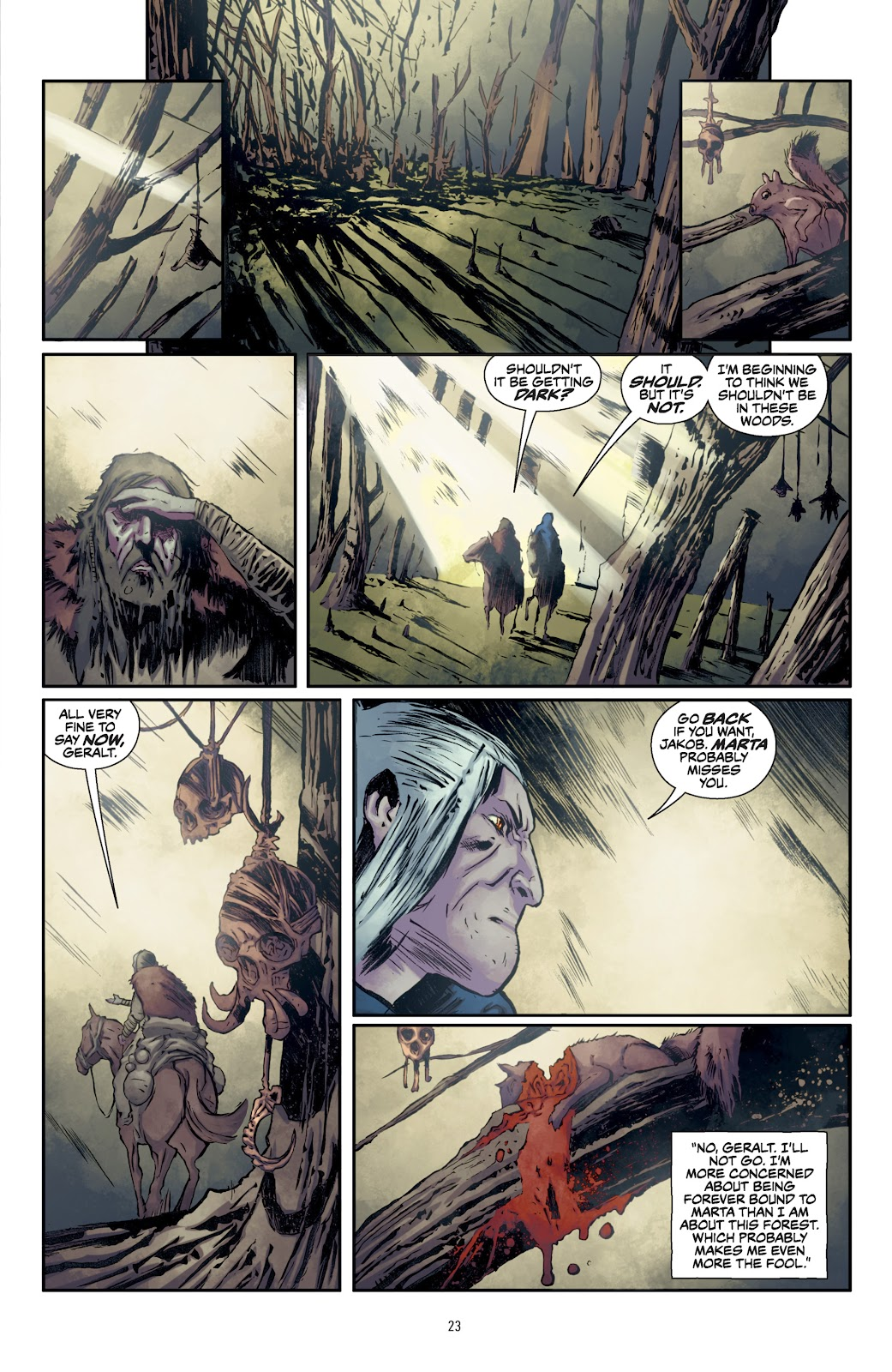 Read online The Witcher Omnibus comic -  Issue # TPB (Part 1) - 24
