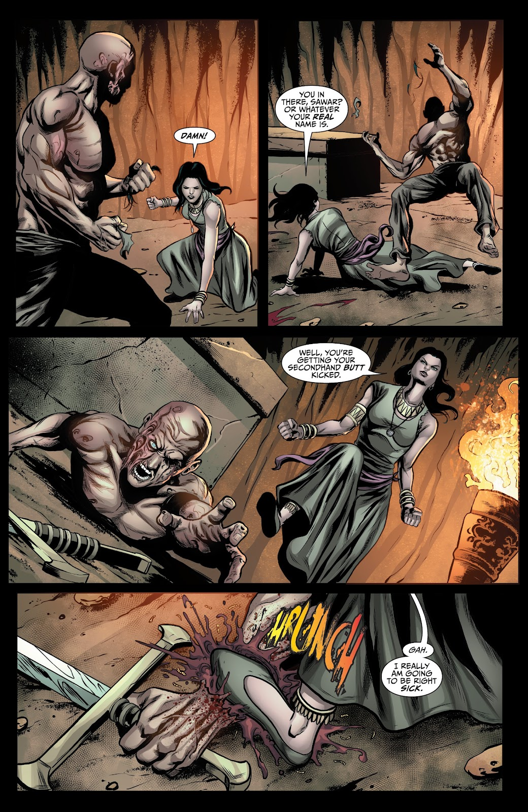 Read online Van Helsing: Sword of Heaven comic -  Issue #5 - 6
