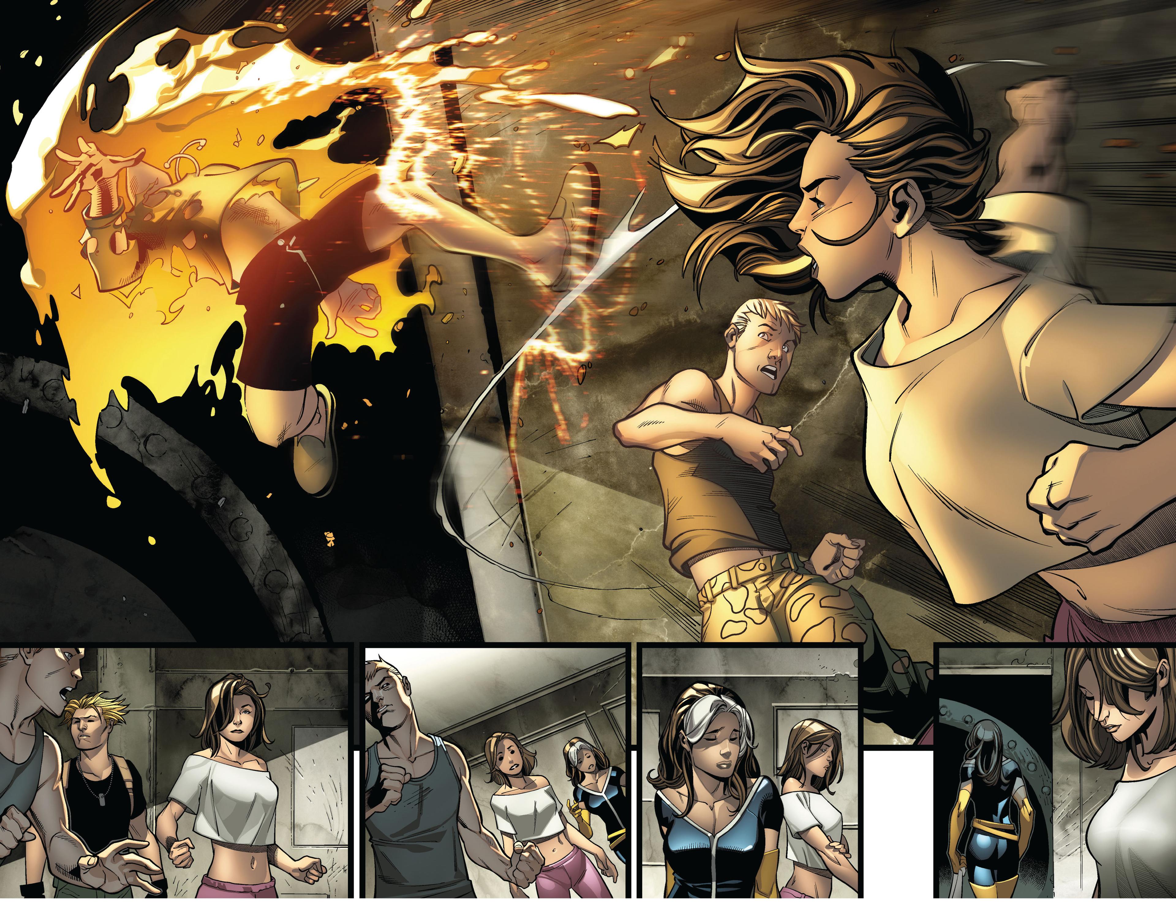 Read online Ultimate Comics X-Men comic -  Issue #4 - 17