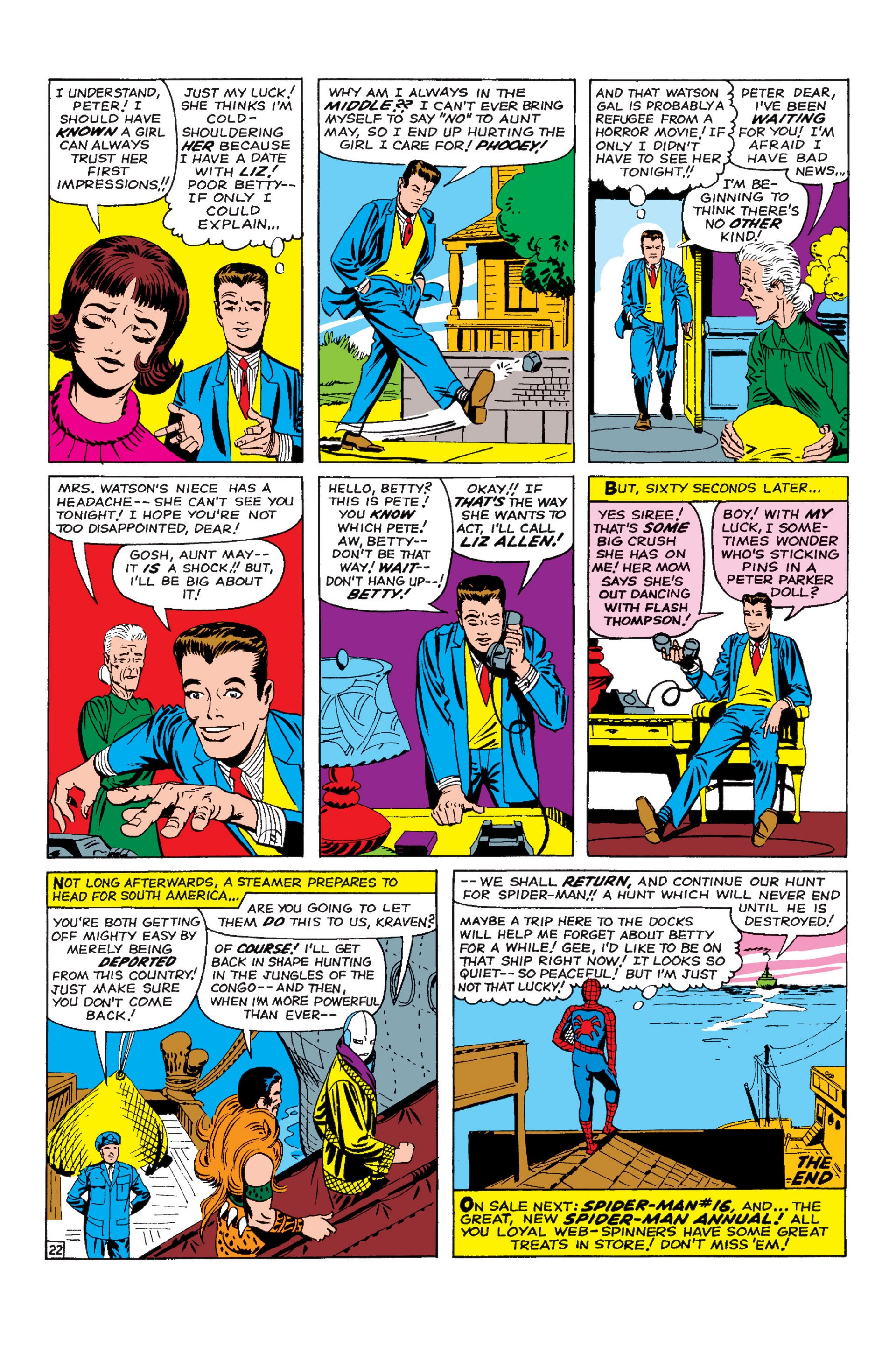 The Amazing Spider-Man (1963) 15 Page 22