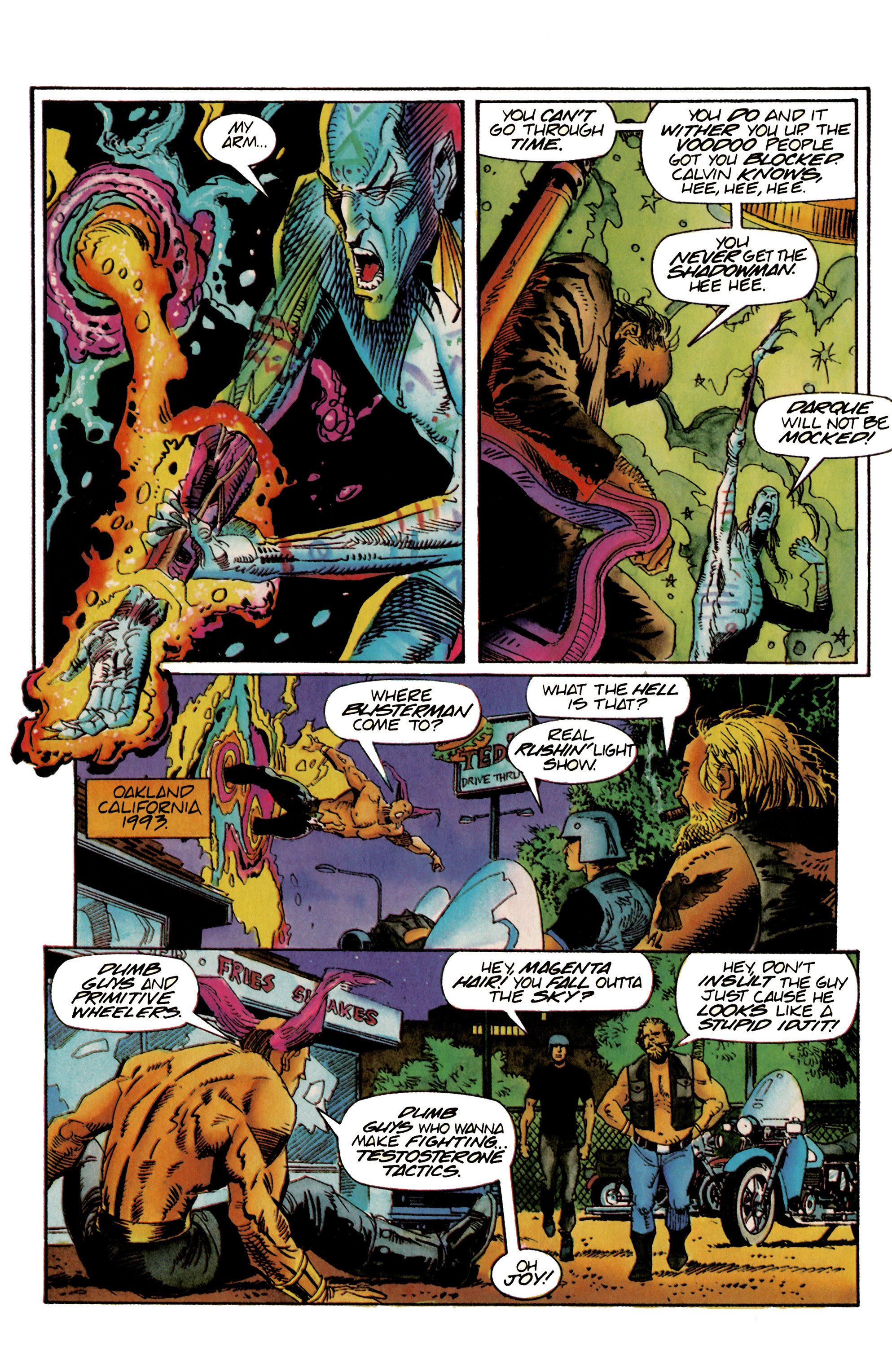 Read online Shadowman (1992) comic -  Issue #22 - 20