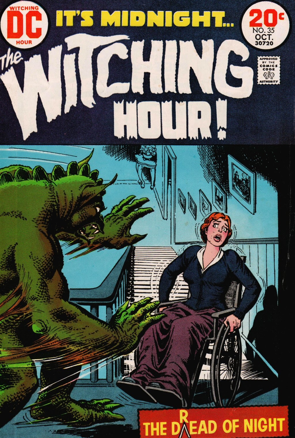 The Witching Hour (1969) issue 35 - Page 1