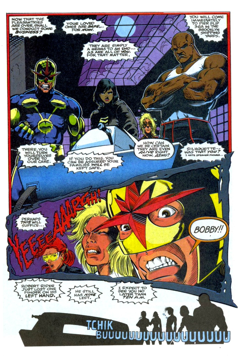 The New Warriors Issue #37 #41 - English 17