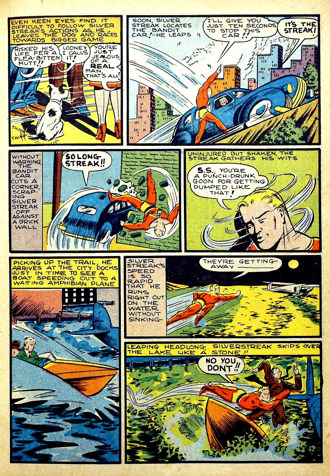 Read online Silver Streak Comics comic -  Issue #22 - 17