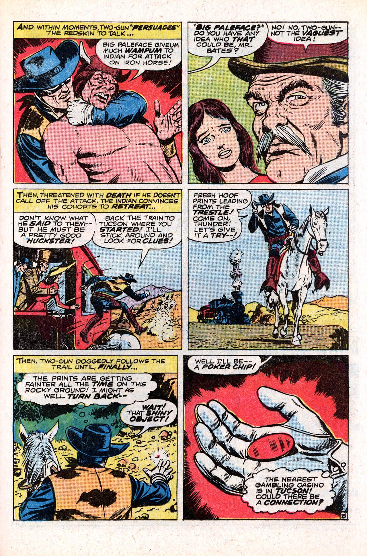 Read online Two-Gun Kid comic -  Issue #98 - 21
