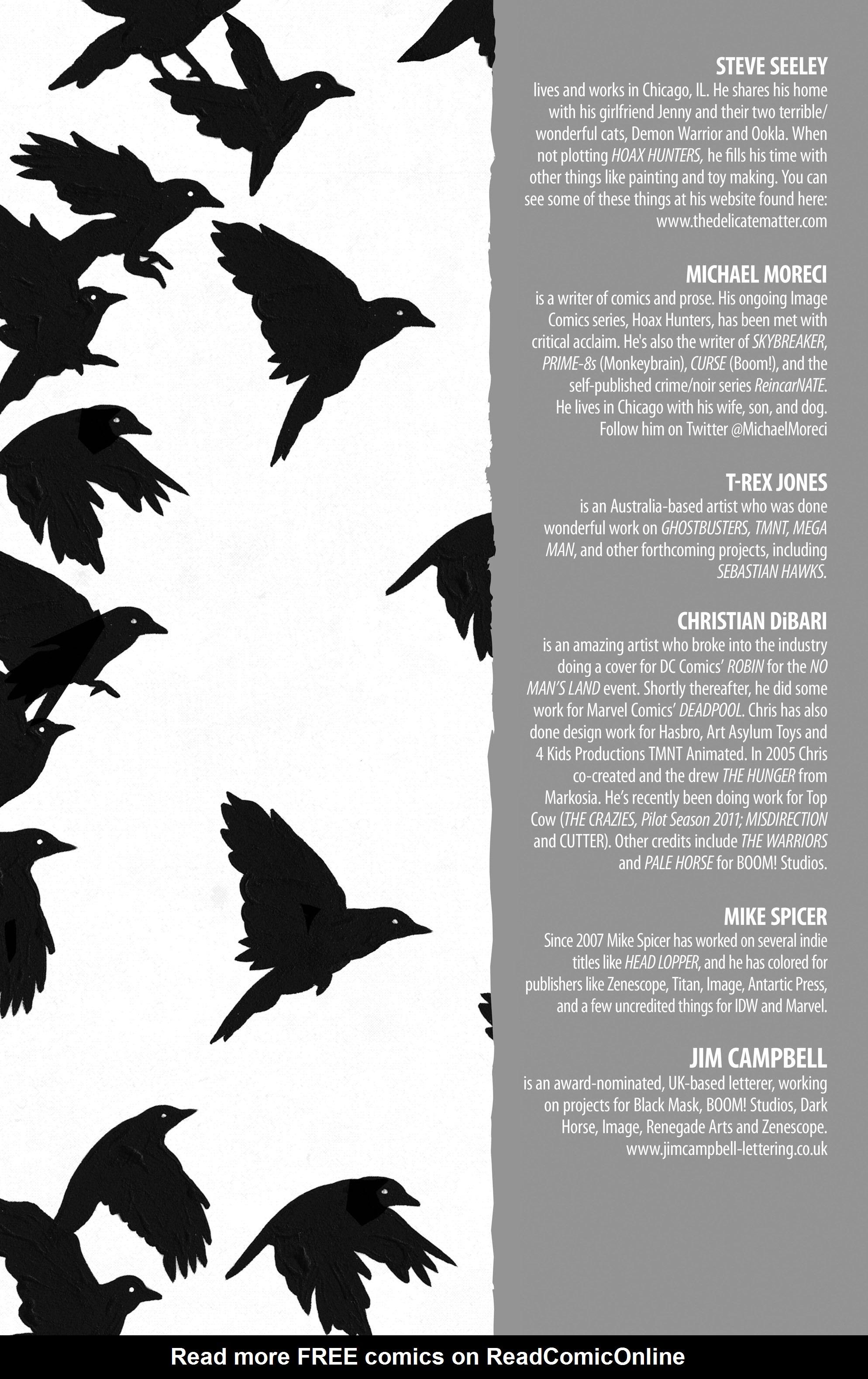 Read online Hoax Hunters (2012) comic -  Issue # TPB 3 - 138