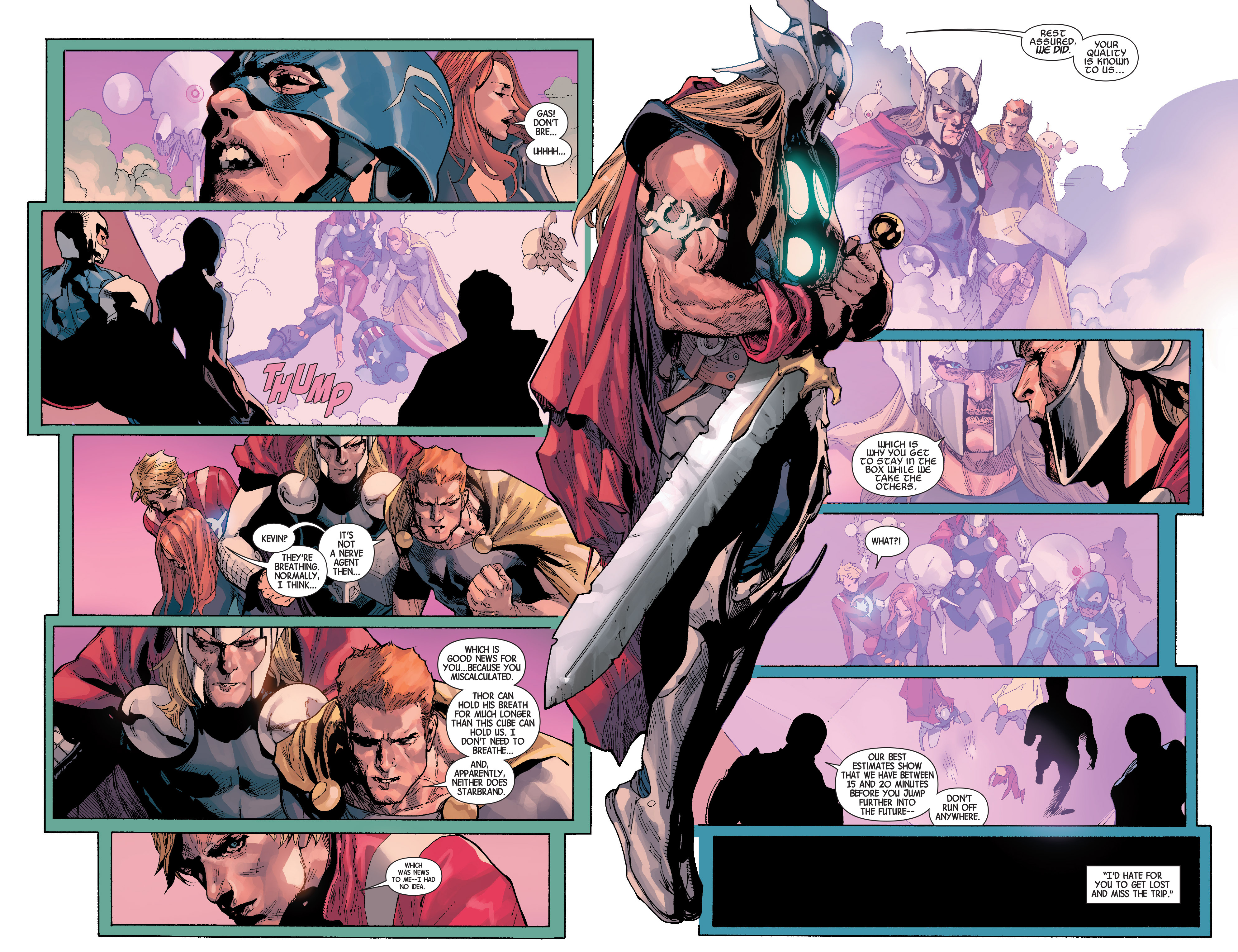 Read online Avengers (2013) comic -  Issue #31 - 10