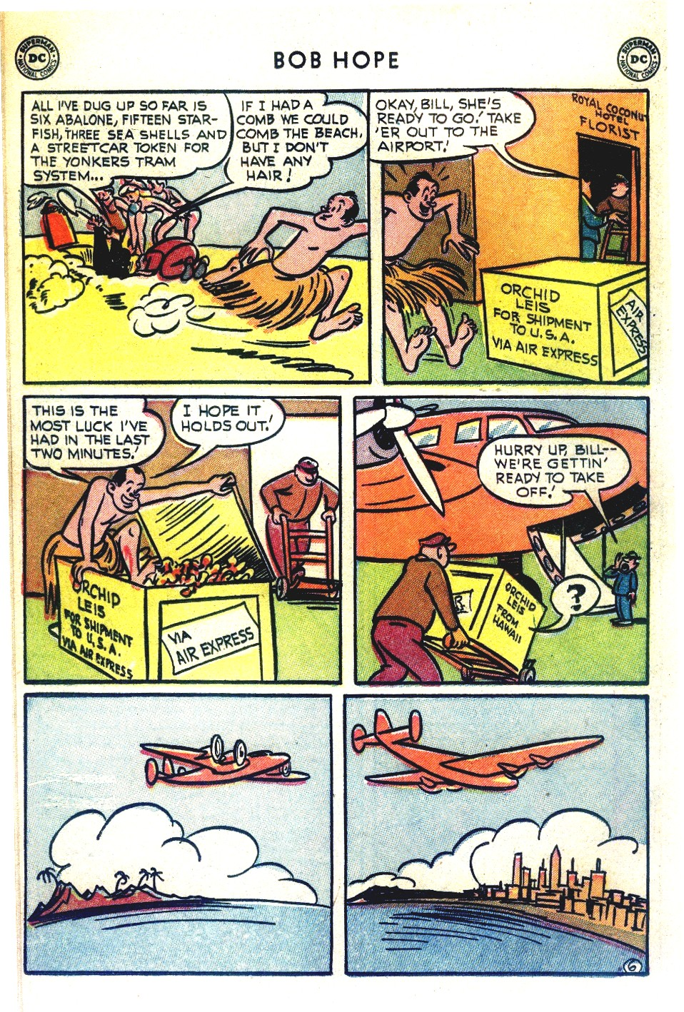 The Adventures of Bob Hope issue 27 - Page 30