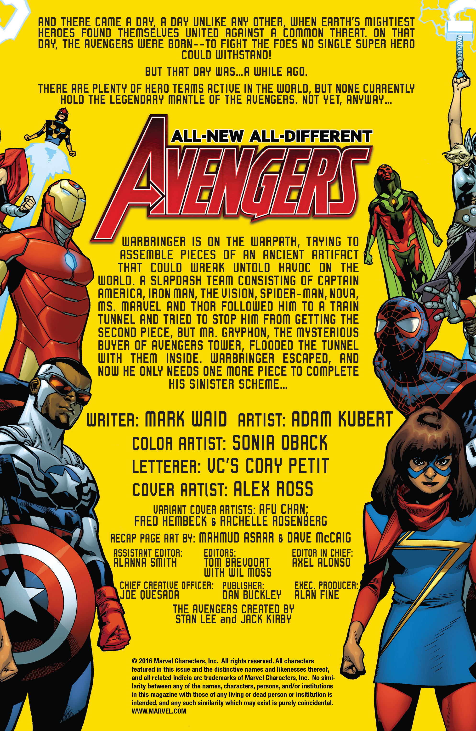 Read online All-New, All-Different Avengers comic -  Issue #3 - 4