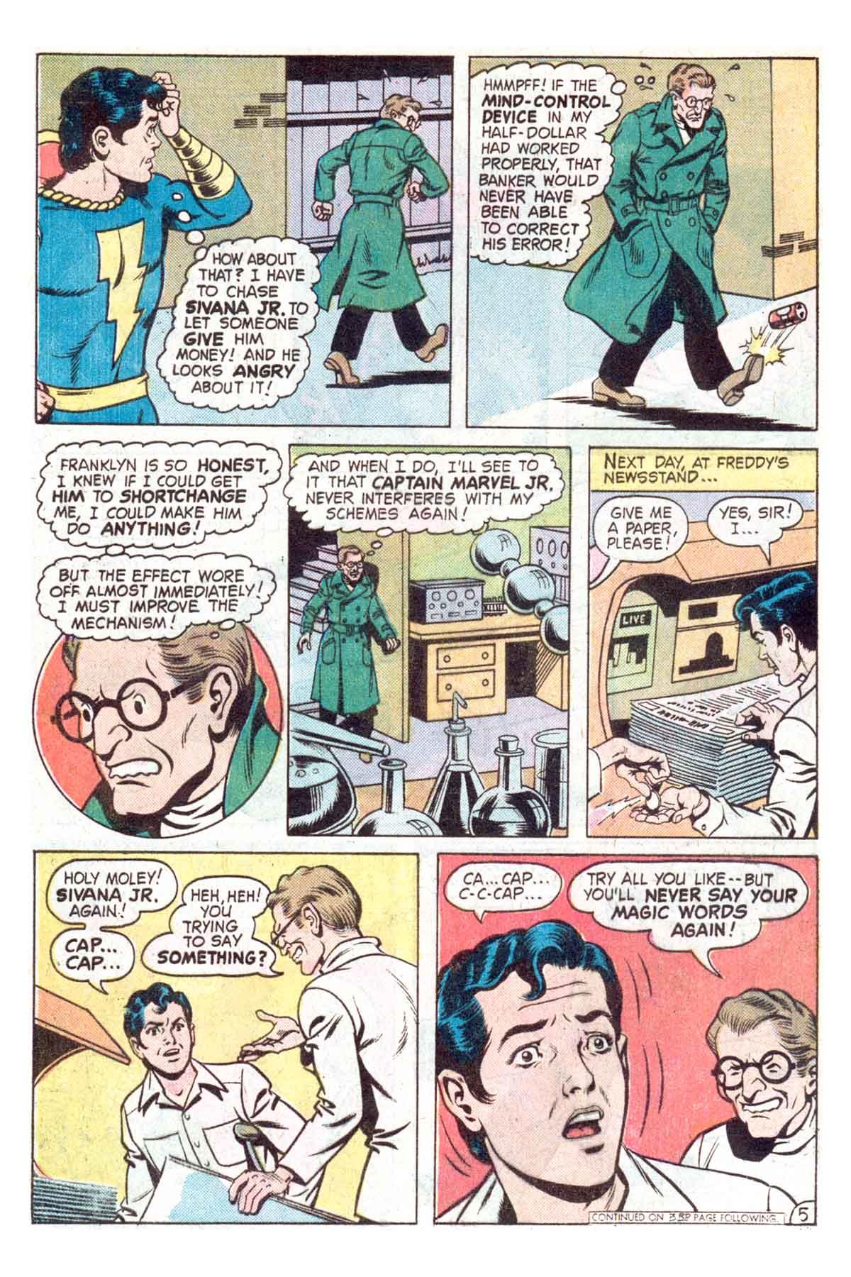 Read online Shazam! (1973) comic -  Issue #18 - 18