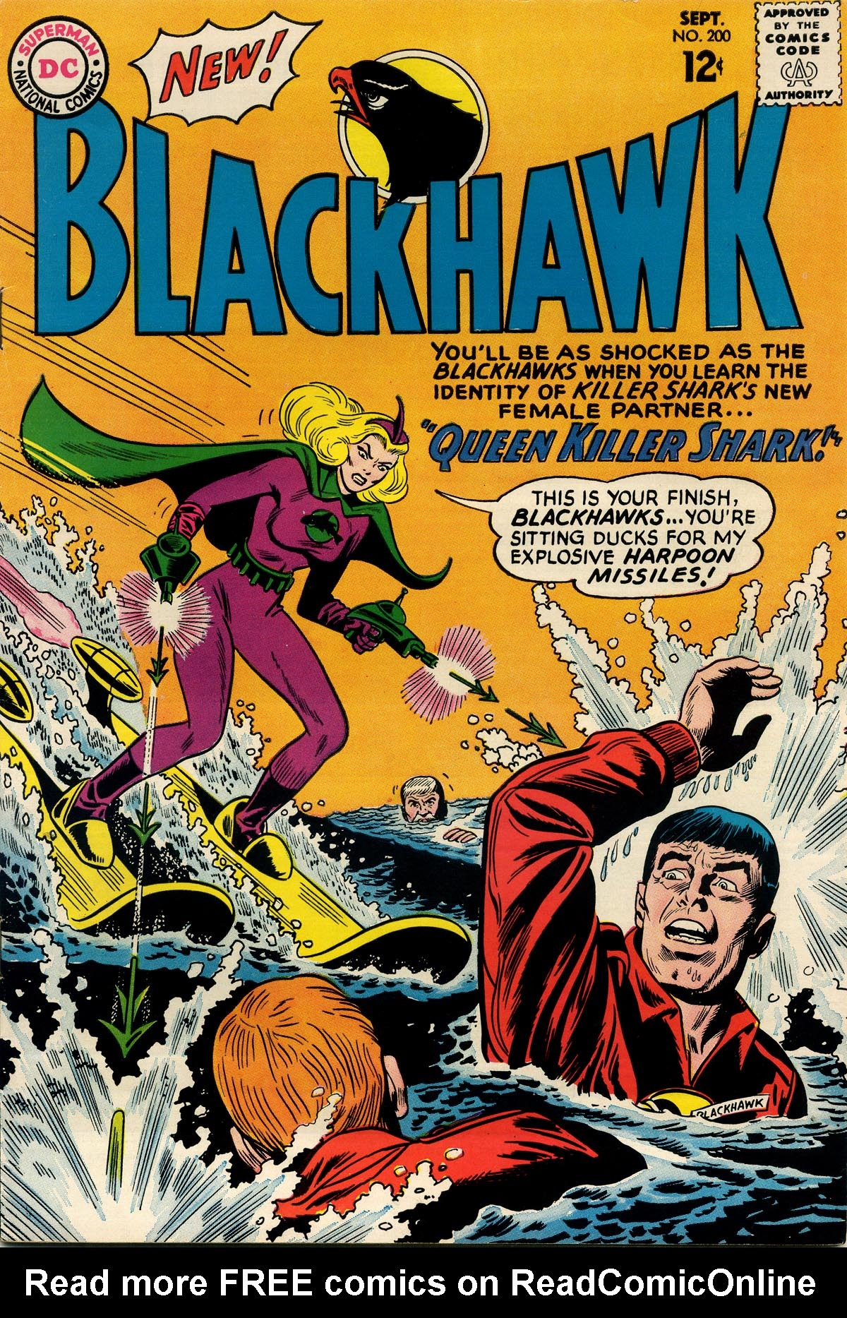 Blackhawk (1957) 200 Page 1