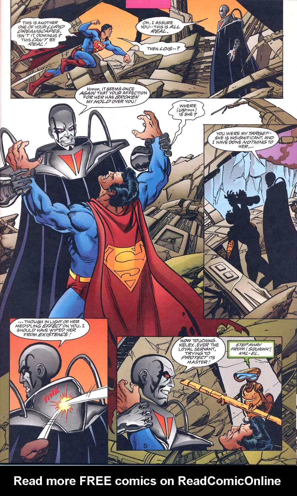 Read online Adventures of Superman (1987) comic -  Issue #567 - 7