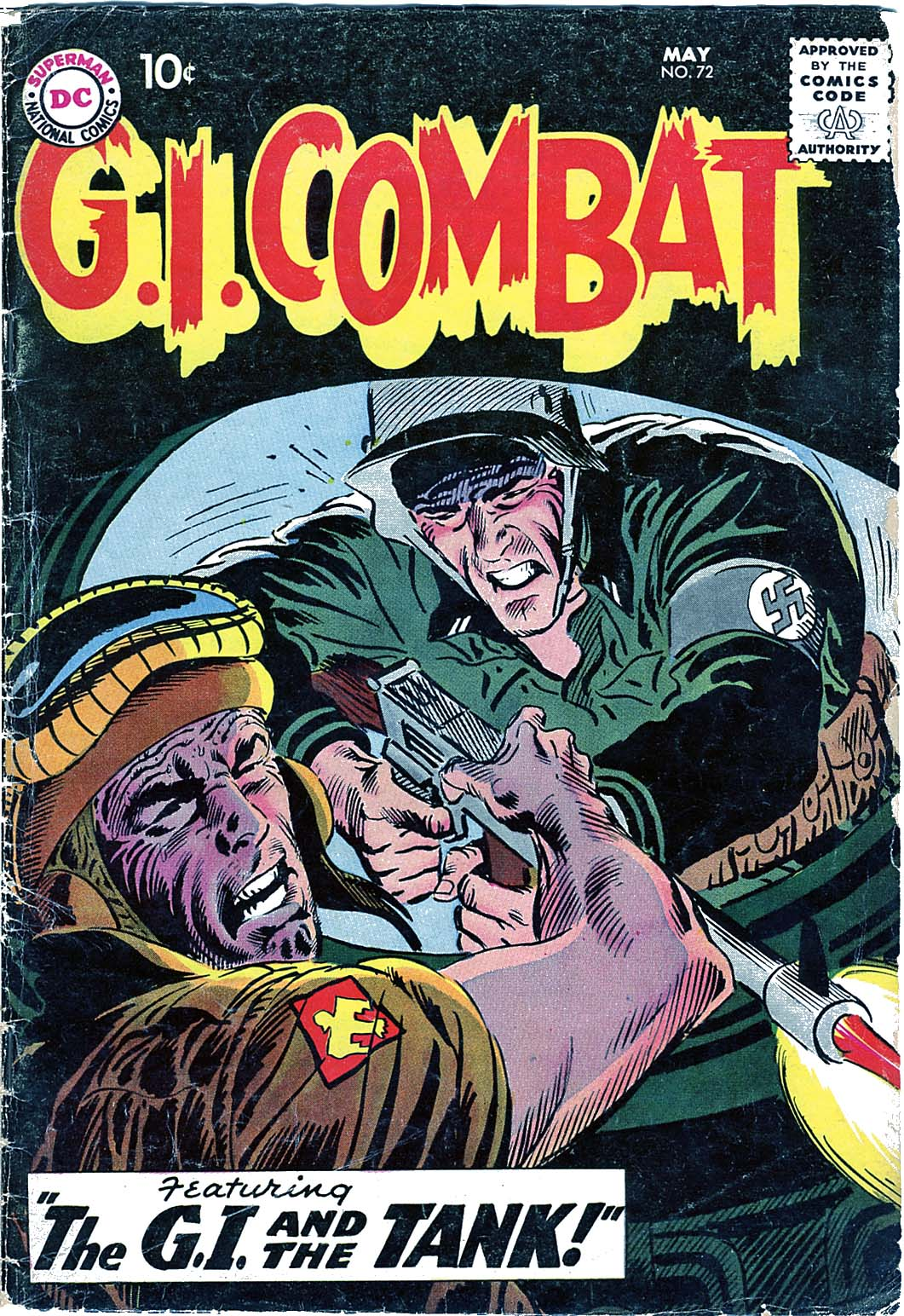 G.I. Combat (1952) 72 Page 1