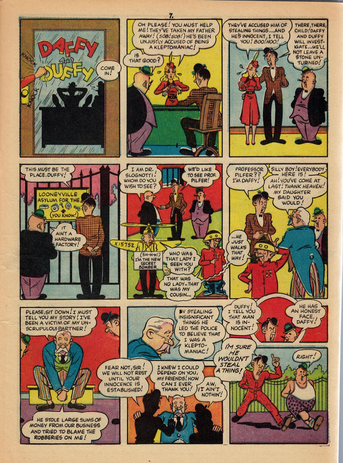 Read online Comedy Comics (1942) comic -  Issue #10 - 9