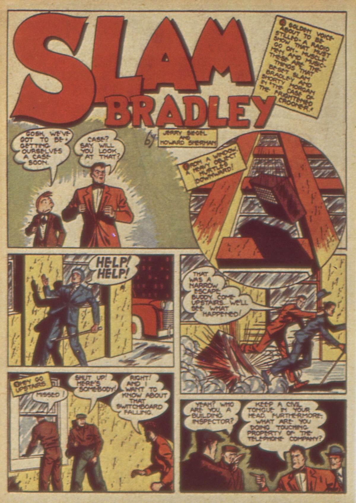 Read online Detective Comics (1937) comic -  Issue #49 - 58