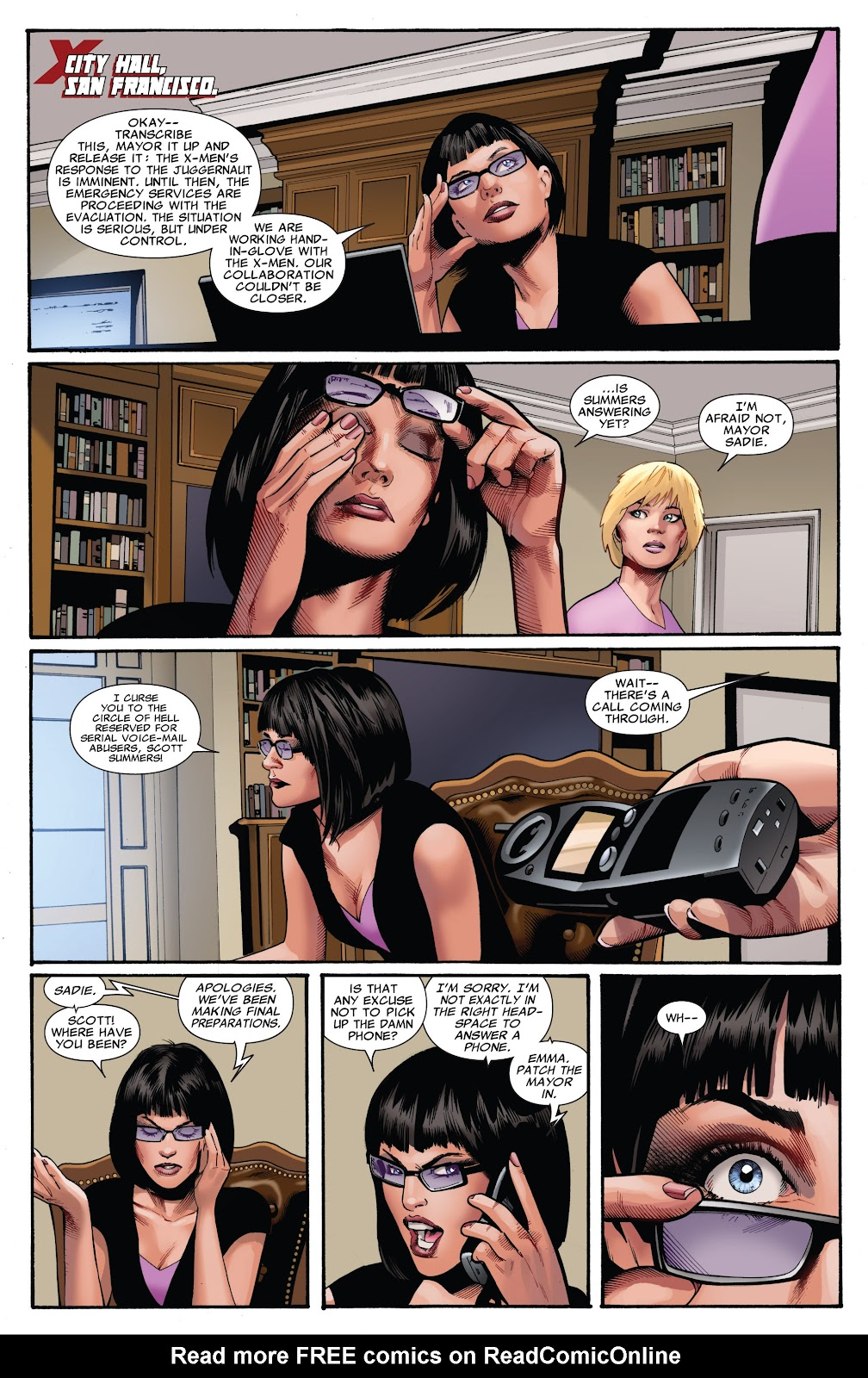 Uncanny X-Men (1963) issue 541 - Page 3