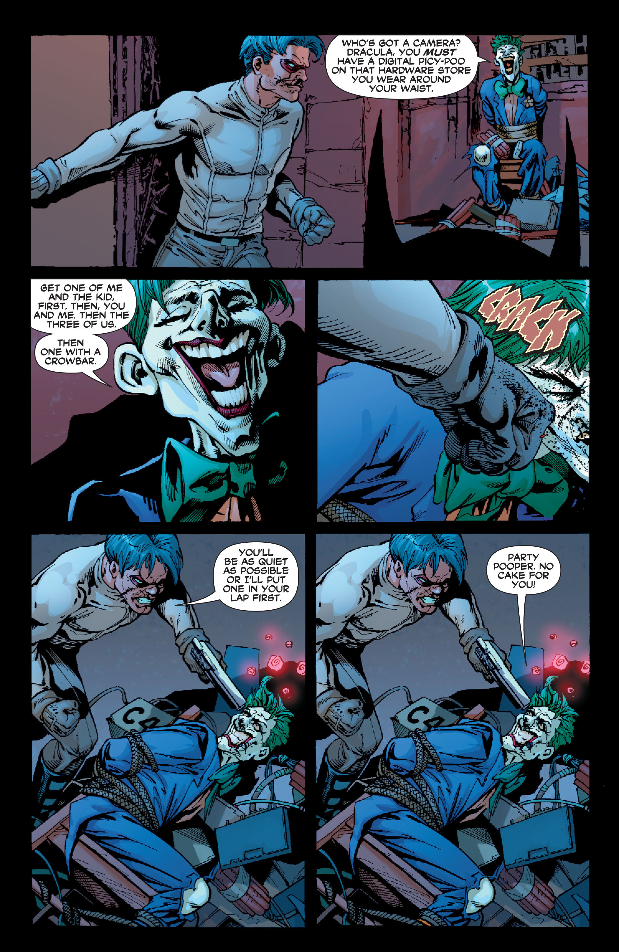 Read online Batman: Under The Red Hood comic -  Issue # Full - 305