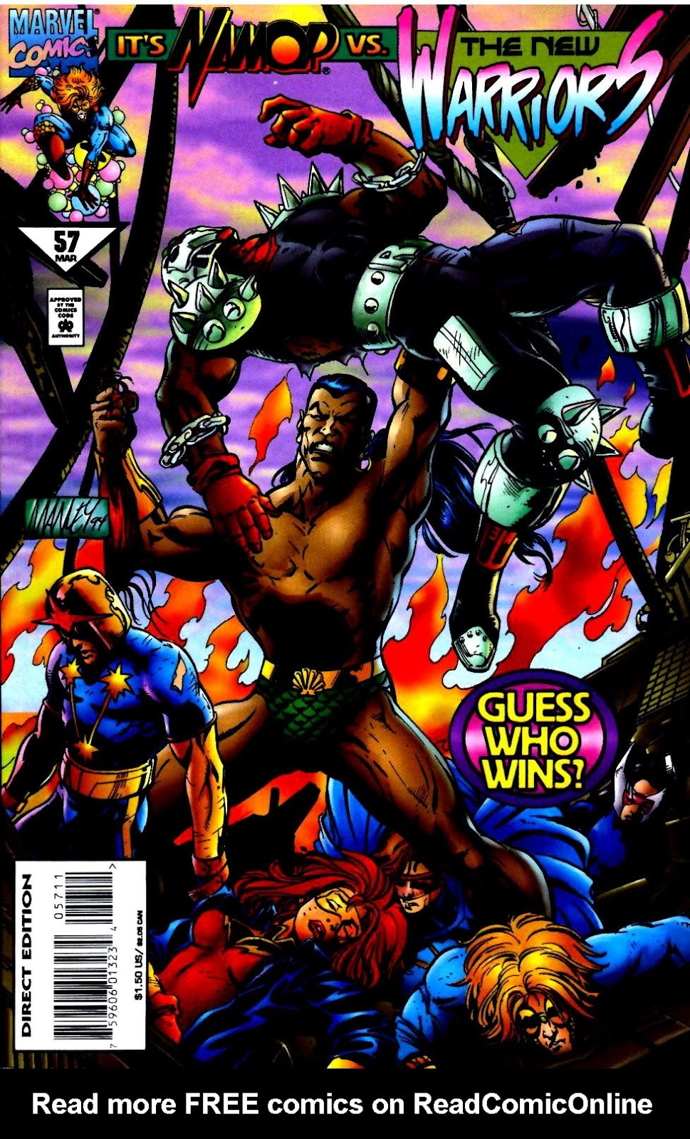 The New Warriors Issue #57 #61 - English 1