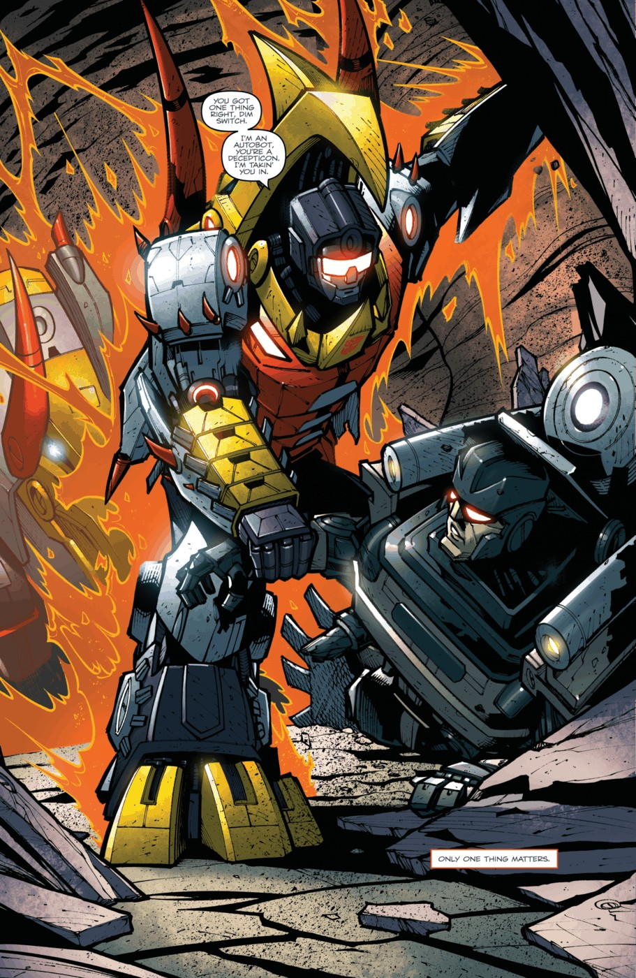 Read online Transformers Prime: Beast Hunters comic -  Issue #5 - 23