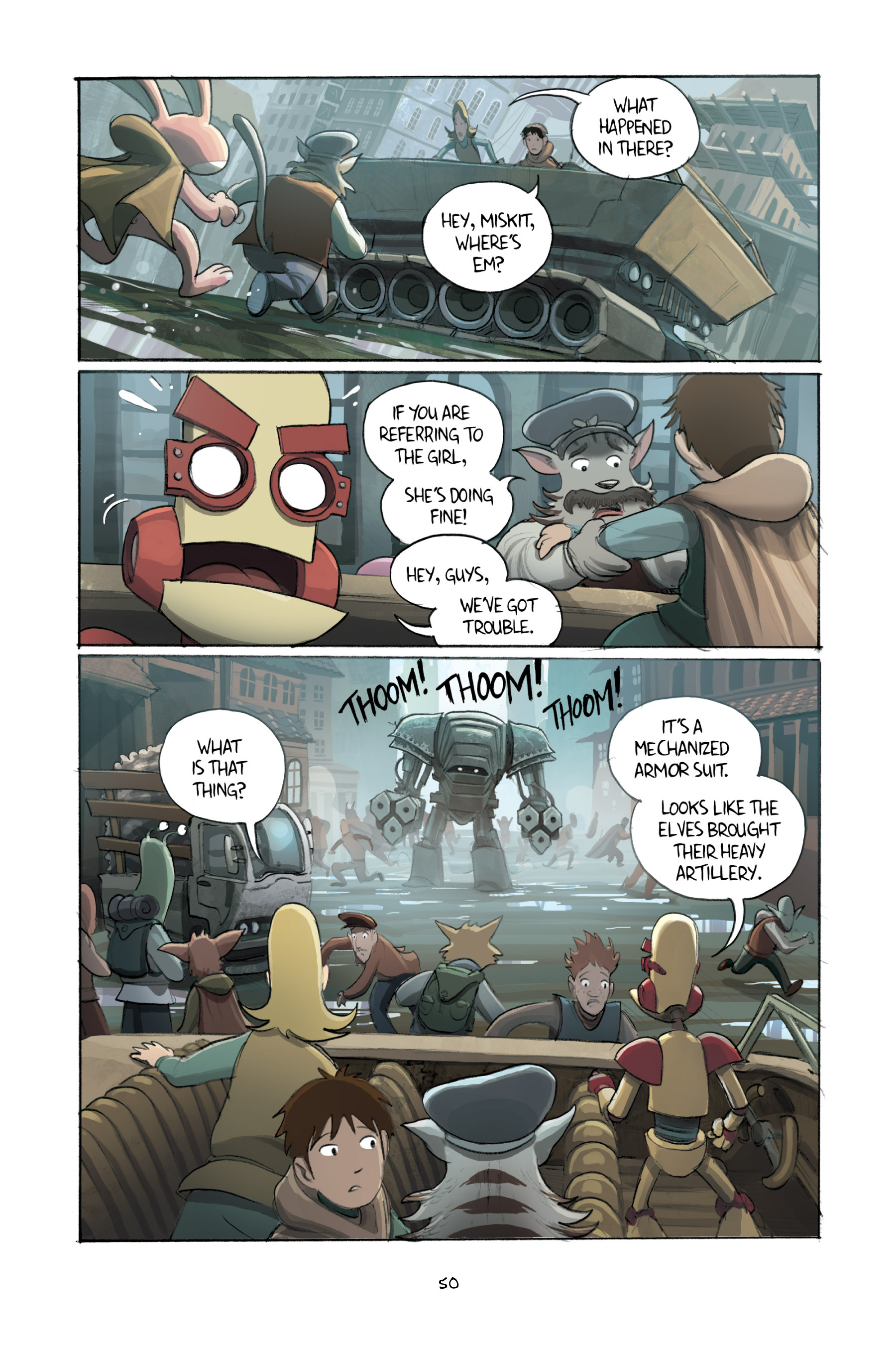 Read online Amulet comic -  Issue #3 - 49