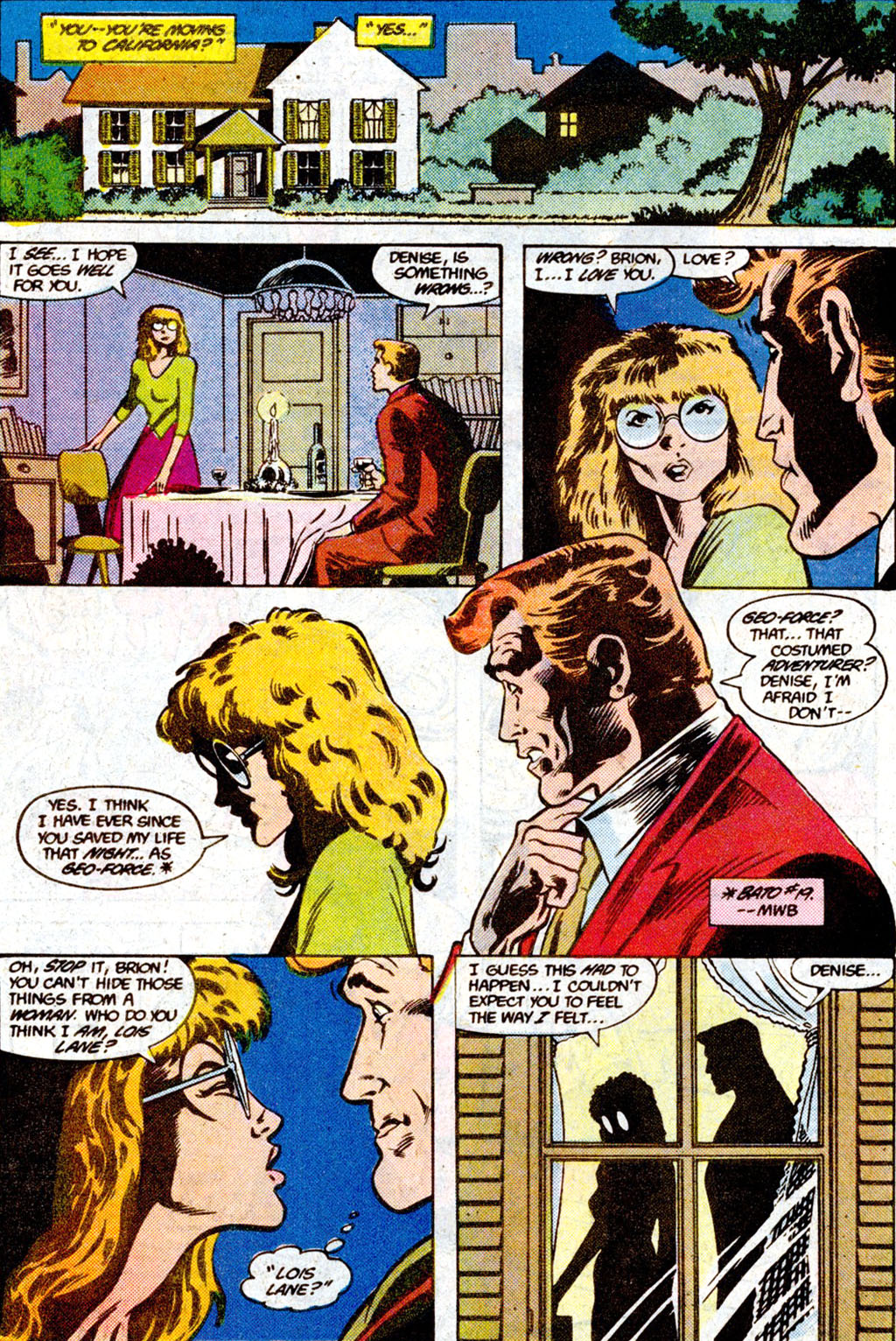 Read online Adventures of the Outsiders comic -  Issue #36 - 18
