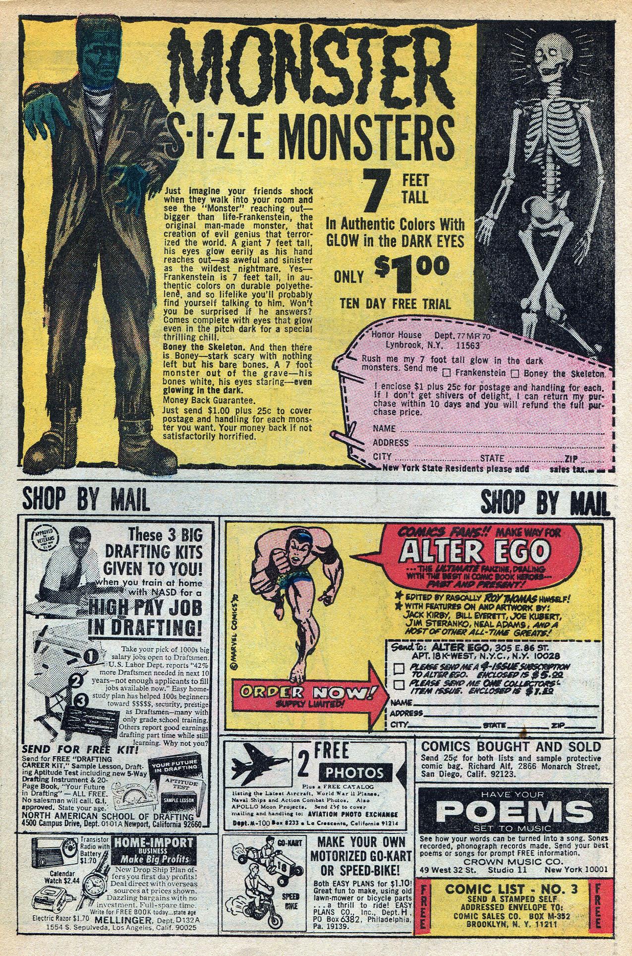 Read online Amazing Adventures (1970) comic -  Issue #3 - 31