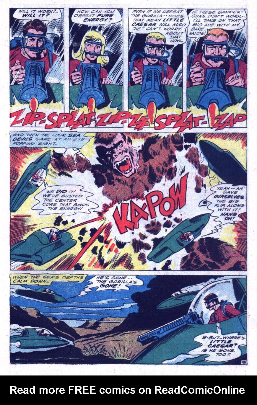 Read online Sea Devils comic -  Issue #30 - 18