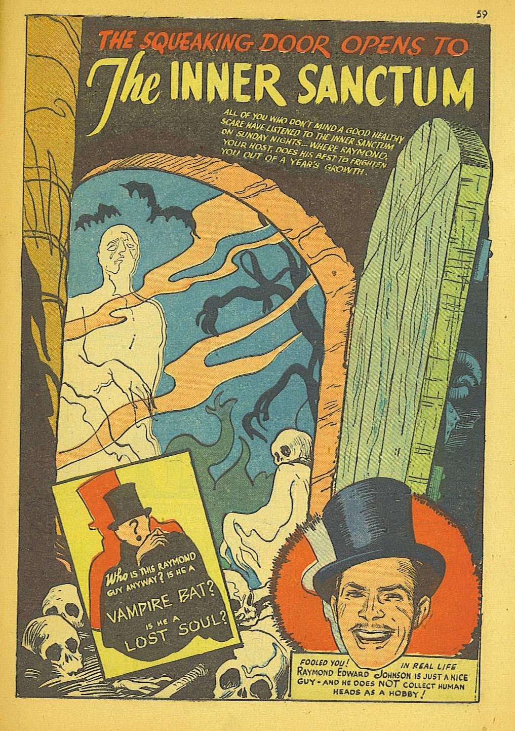 Read online Super-Magician Comics comic -  Issue #19 - 51