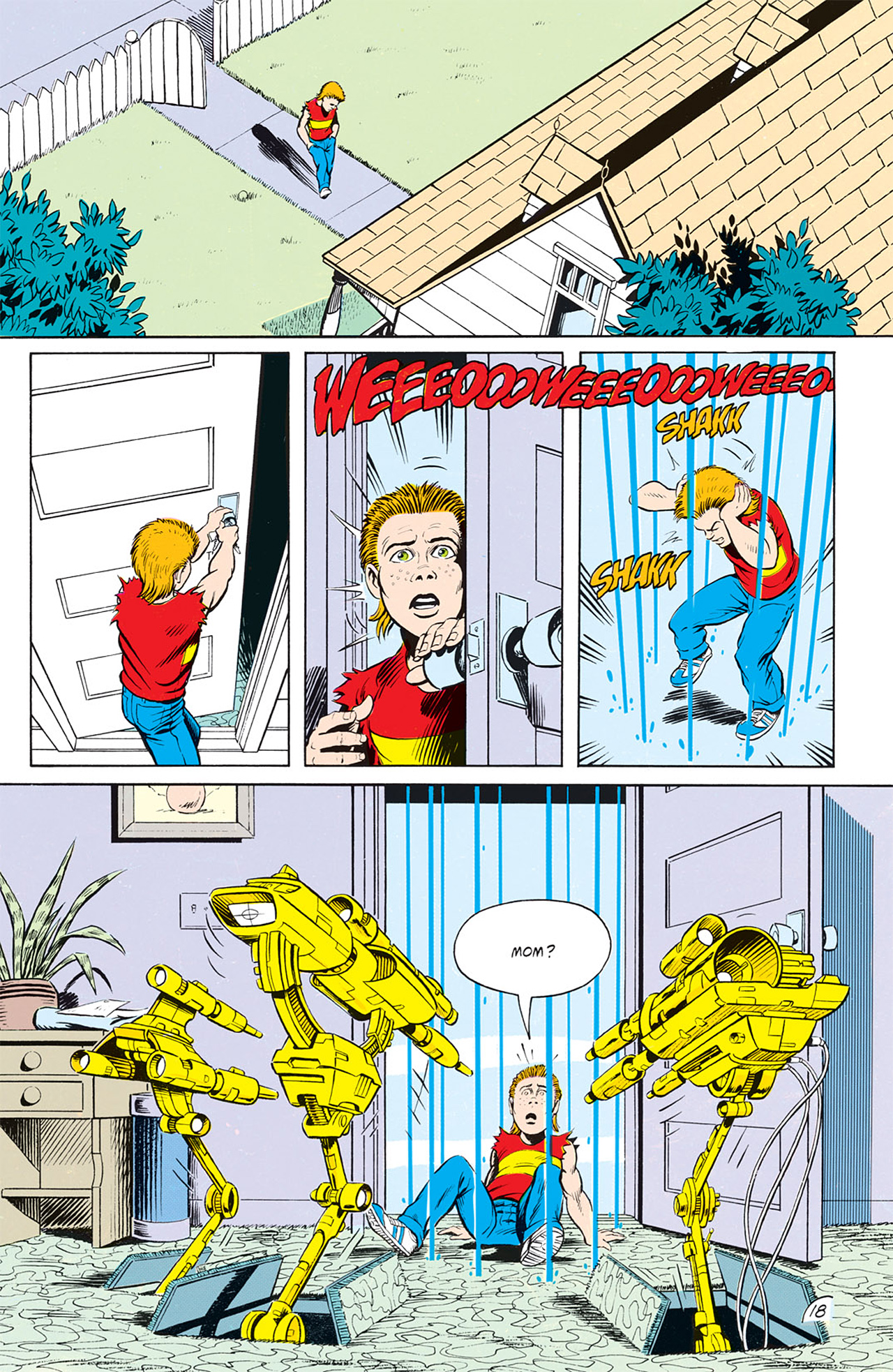 Read online Animal Man (1988) comic -  Issue #9 - 20