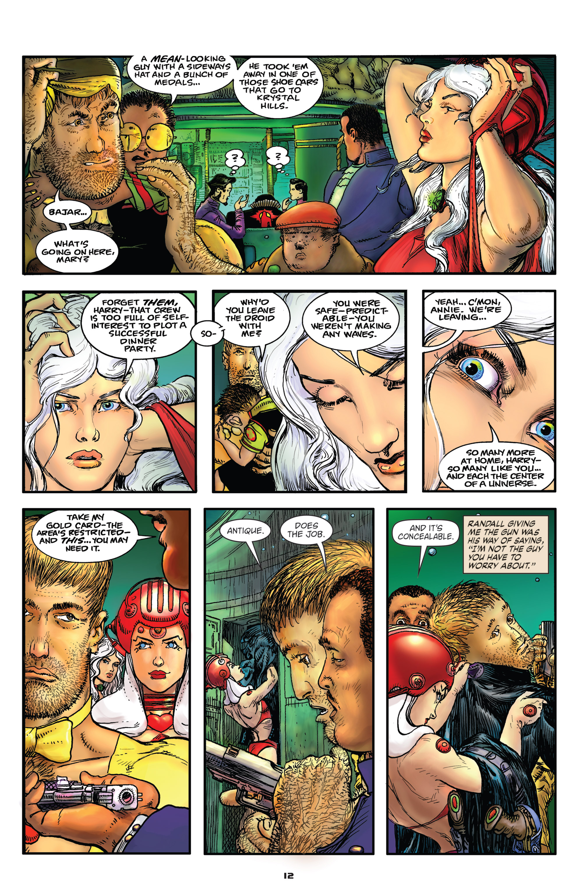 Read online Starstruck: Old Proldiers Never Die comic -  Issue #4 - 13