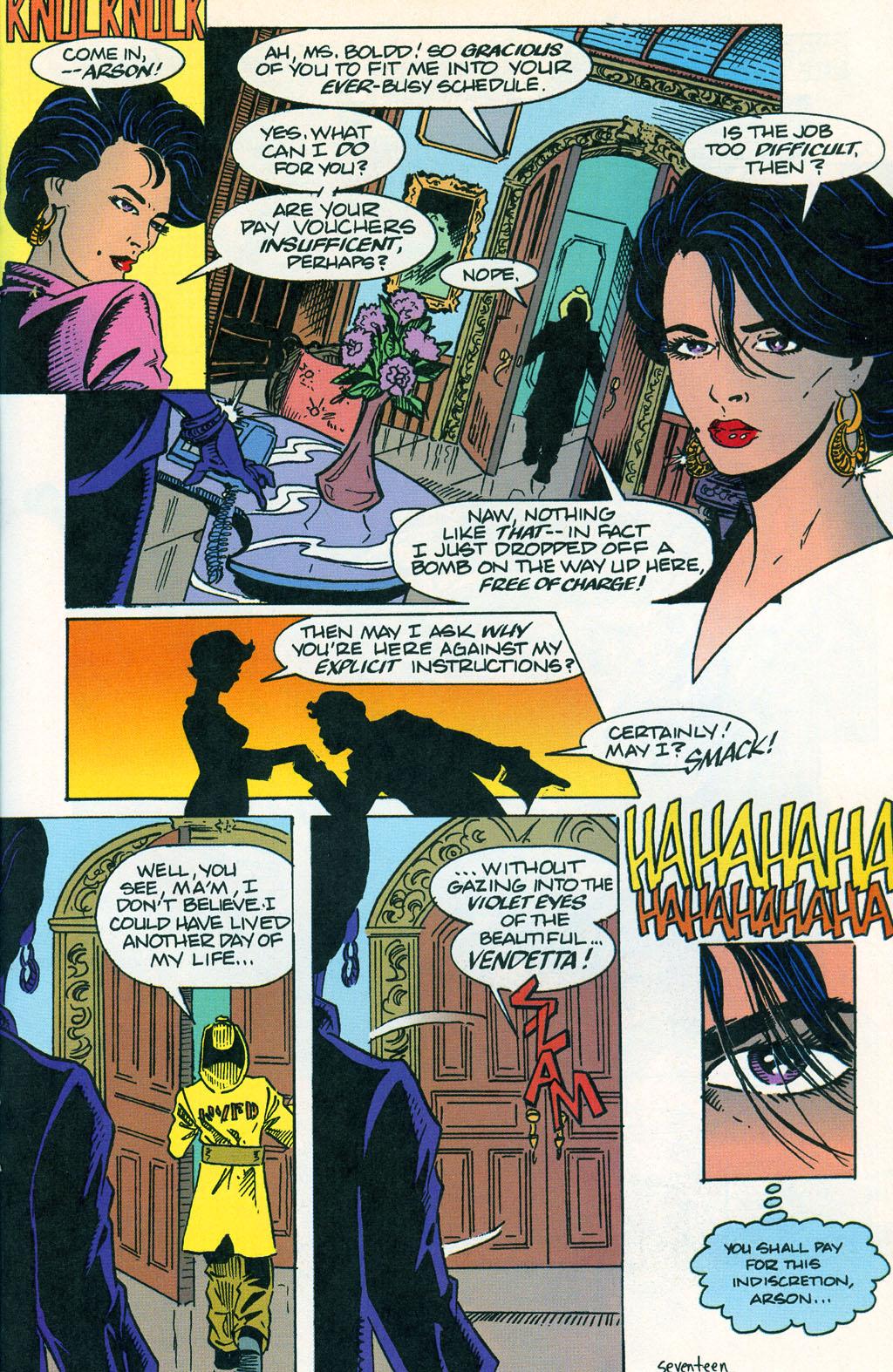 Read online ShadowHawk comic -  Issue #1 - 21