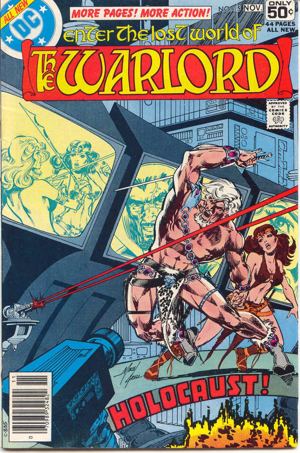 Warlord (1976) 15 Page 1