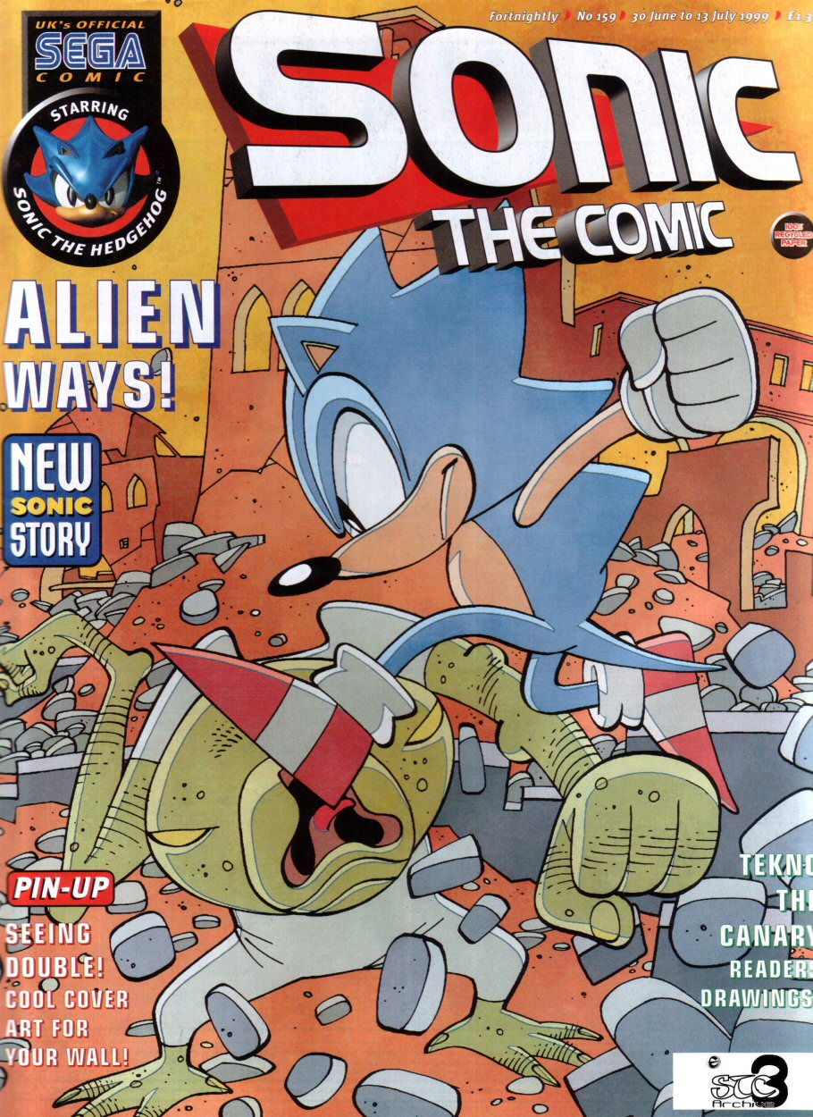 Read online Sonic the Comic comic -  Issue #159 - 1