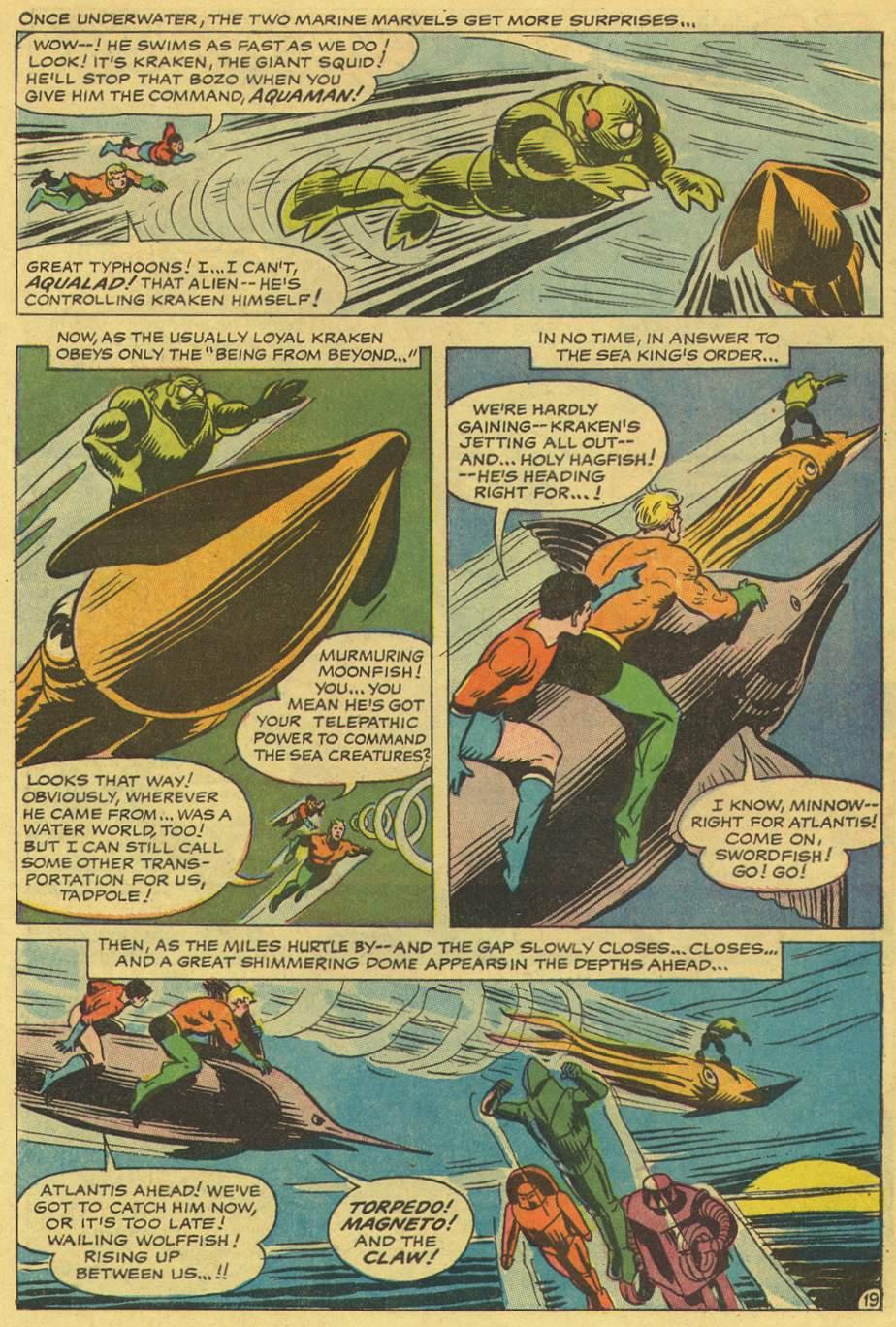Read online Aquaman (1962) comic -  Issue #36 - 29