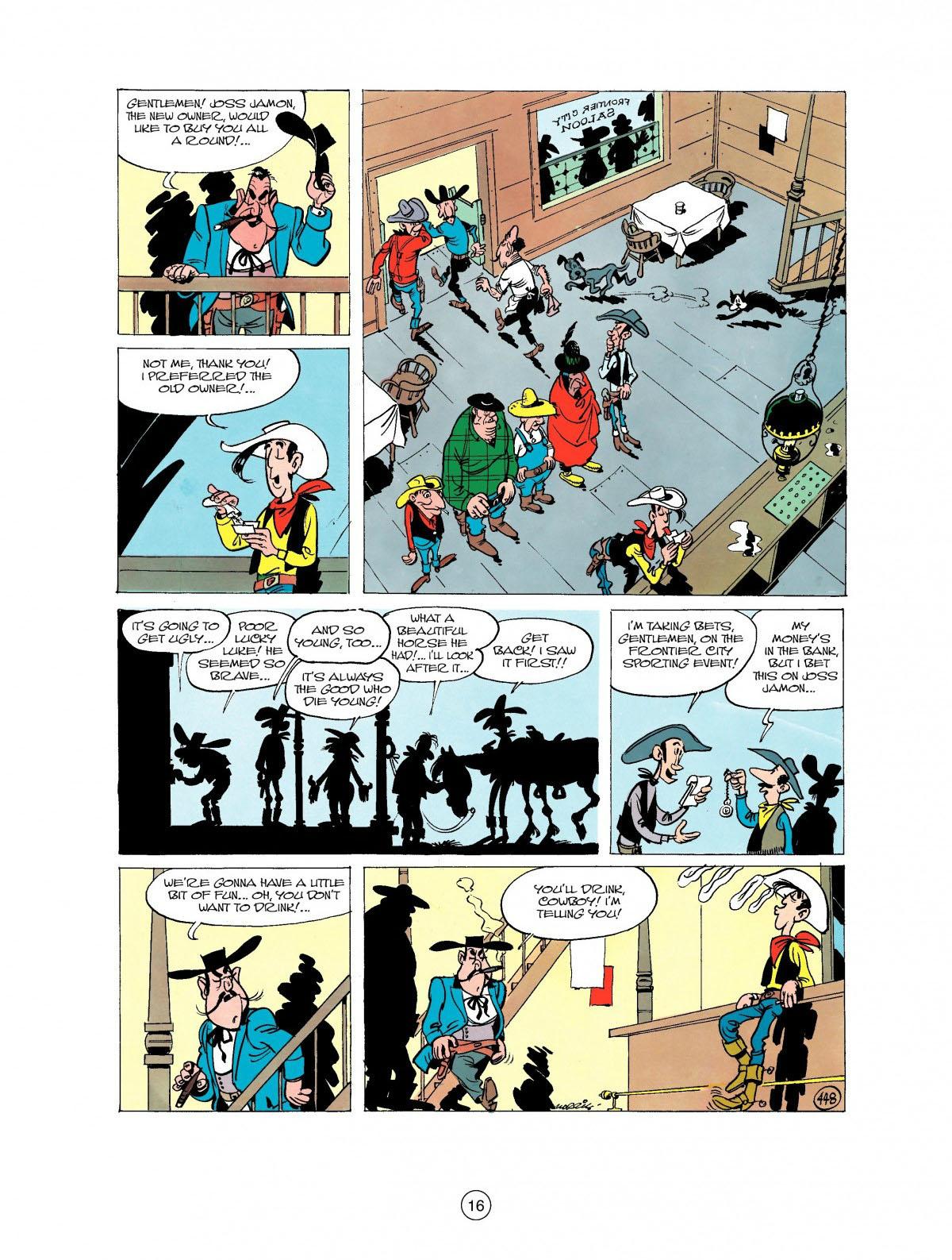 Read online A Lucky Luke Adventure comic -  Issue #27 - 17