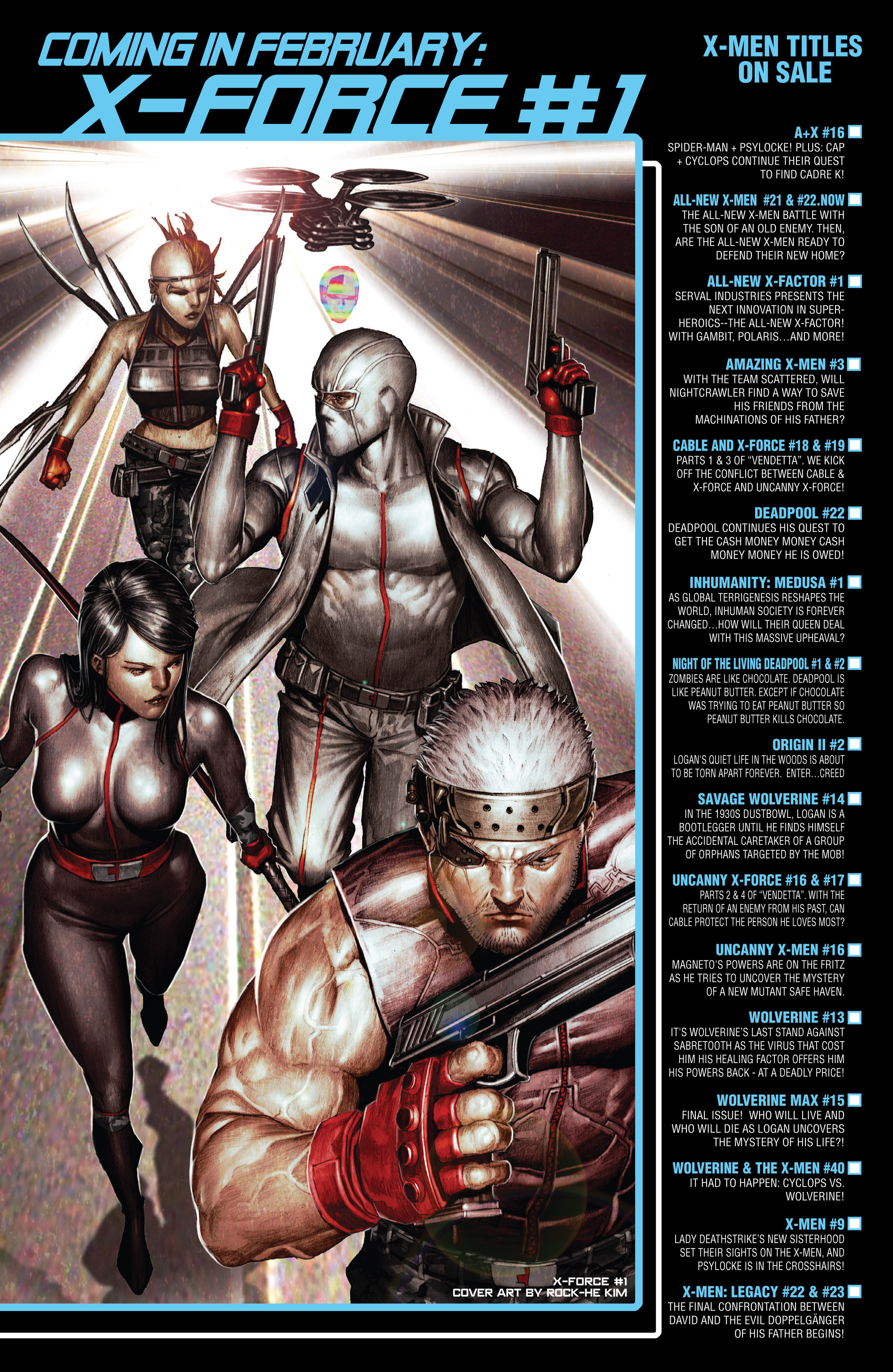 Read online Uncanny X-Force (2013) comic -  Issue #17 - 23